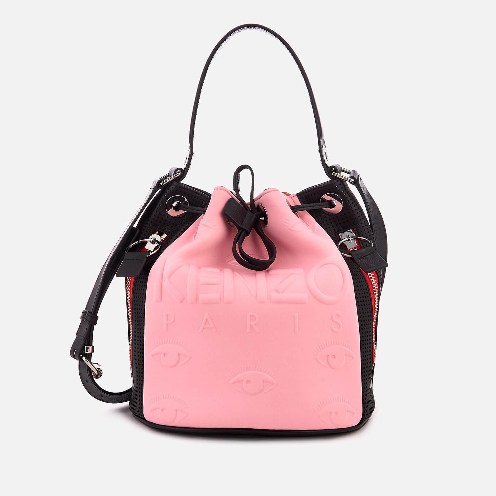 417e5f301d KENZO Women's Kanvas Bucket Bag - Flamingo Pink - Free UK Delivery over £50