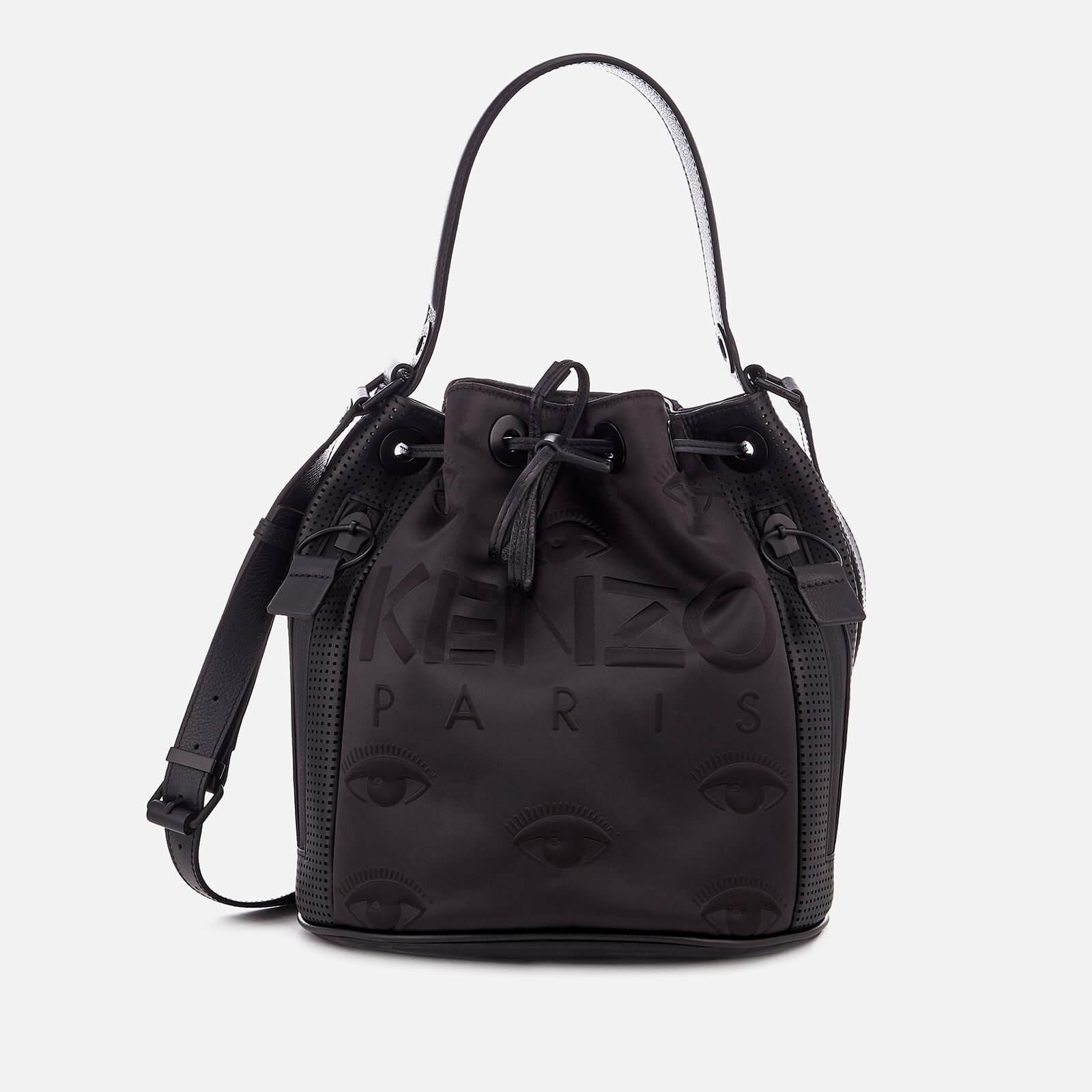 58736ba6af KENZO Women's Kanvas Bucket Bag - Black - Free UK Delivery over £50