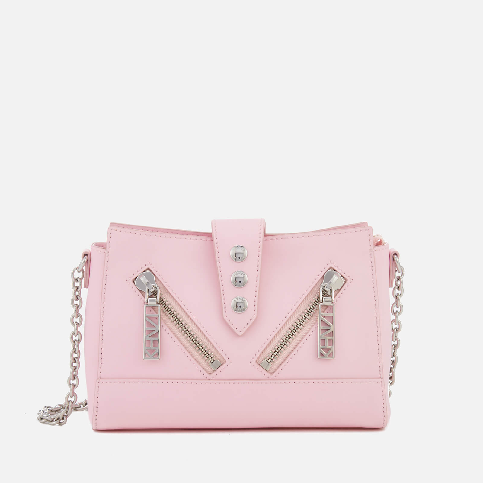 fd5a430e67a KENZO Women's Kalifornia Mini Shoulder Bag - Faded Pink - Free UK Delivery  over £50