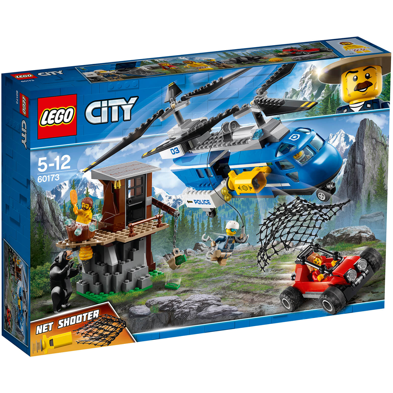 Lego City Police Mountain Arrest 60173 Iwoot