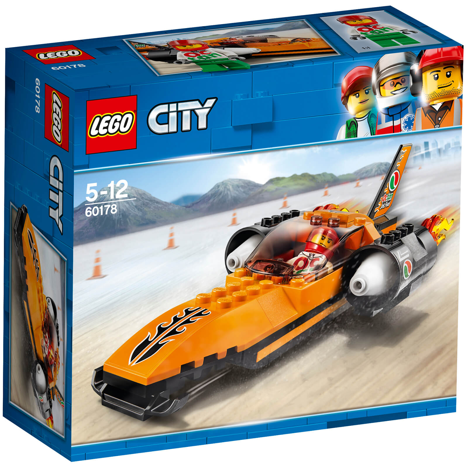 LEGO City Great Vehicles: Speed Record Car (60178)