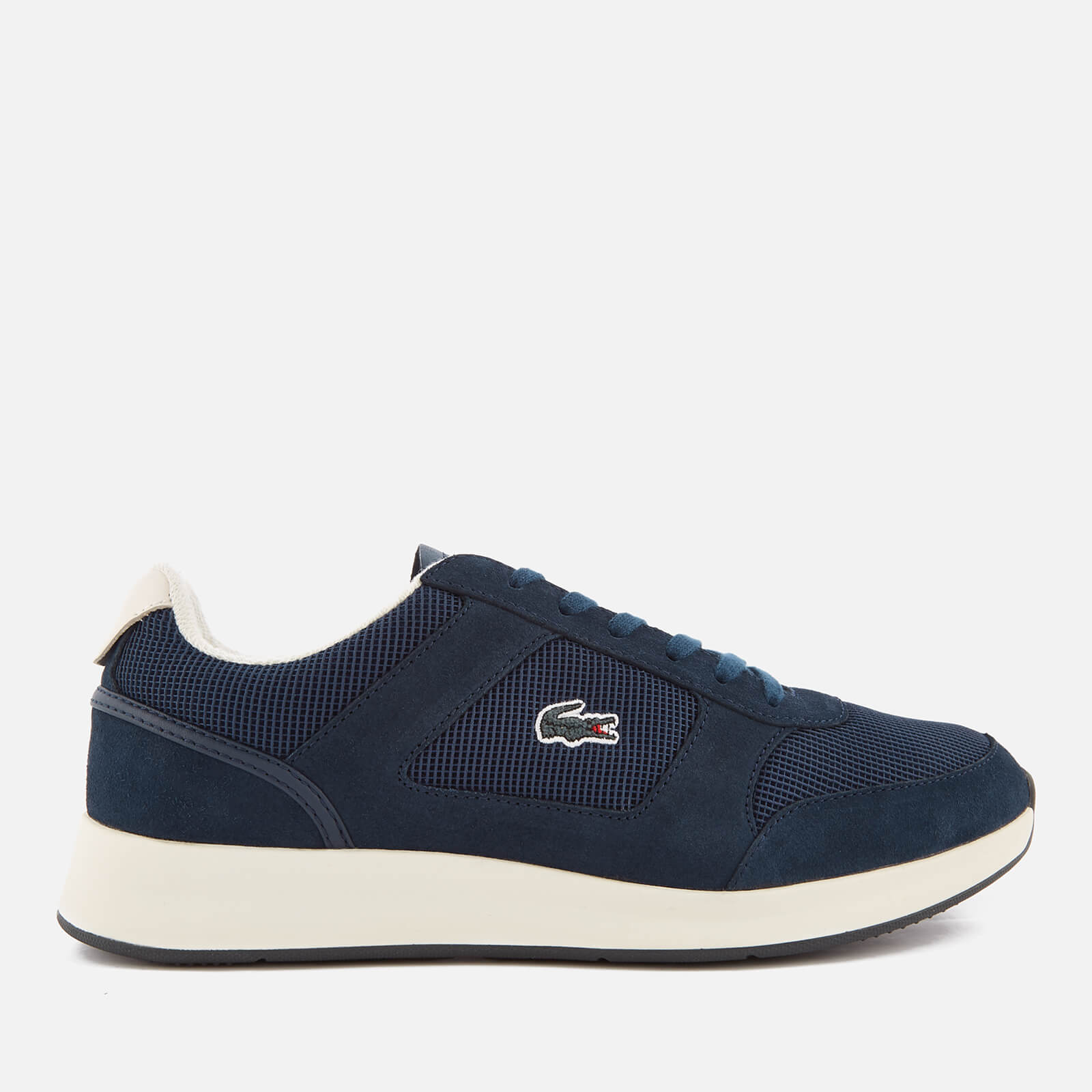 9dd889c8b3107 Lacoste Men's Joggeur 118 1 Runner Trainers - Navy/Off White | FREE UK  Delivery | Allsole