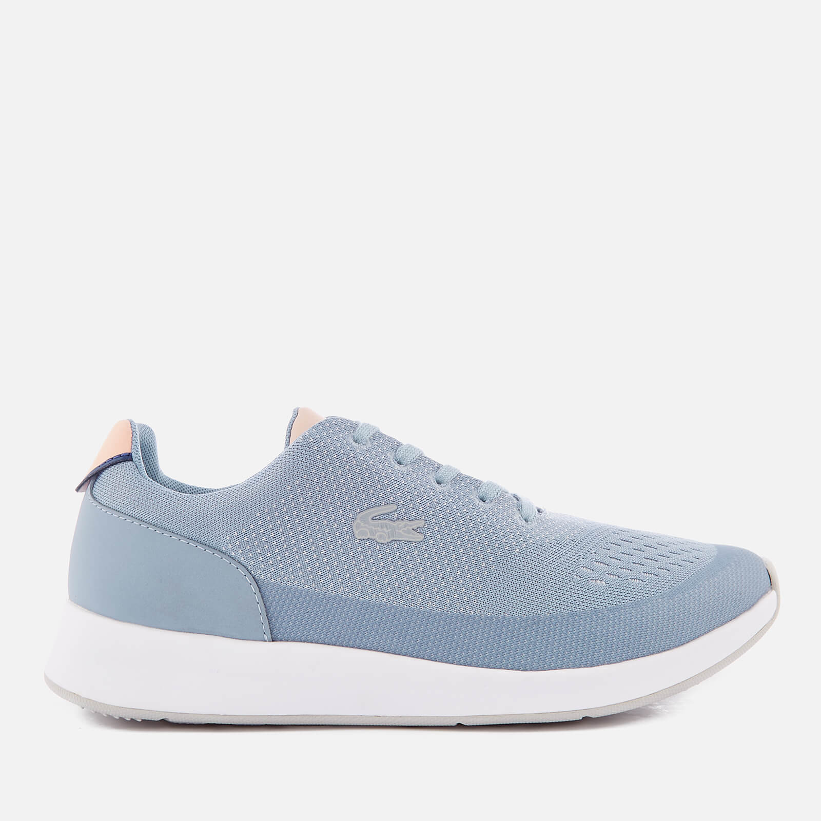 601005eed8b36 Lacoste Women's Chaumont 118 3 Runner Trainers - Light Blue/Light Pink  Womens Footwear   TheHut.com