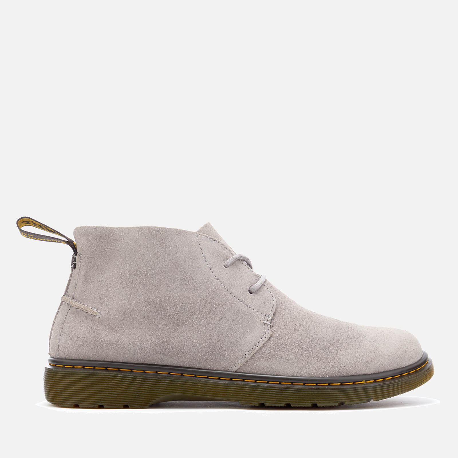 2a7a336826f Dr. Martens Men's Ember Bronx Suede Lace Low Boots - Mid Grey