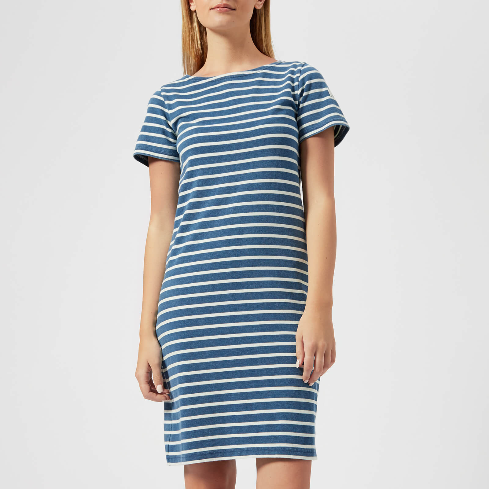 469b66f667a Joules Women's Riviera Short Sleeve Jersey Dress - Saltwash Womens Clothing  | TheHut.com