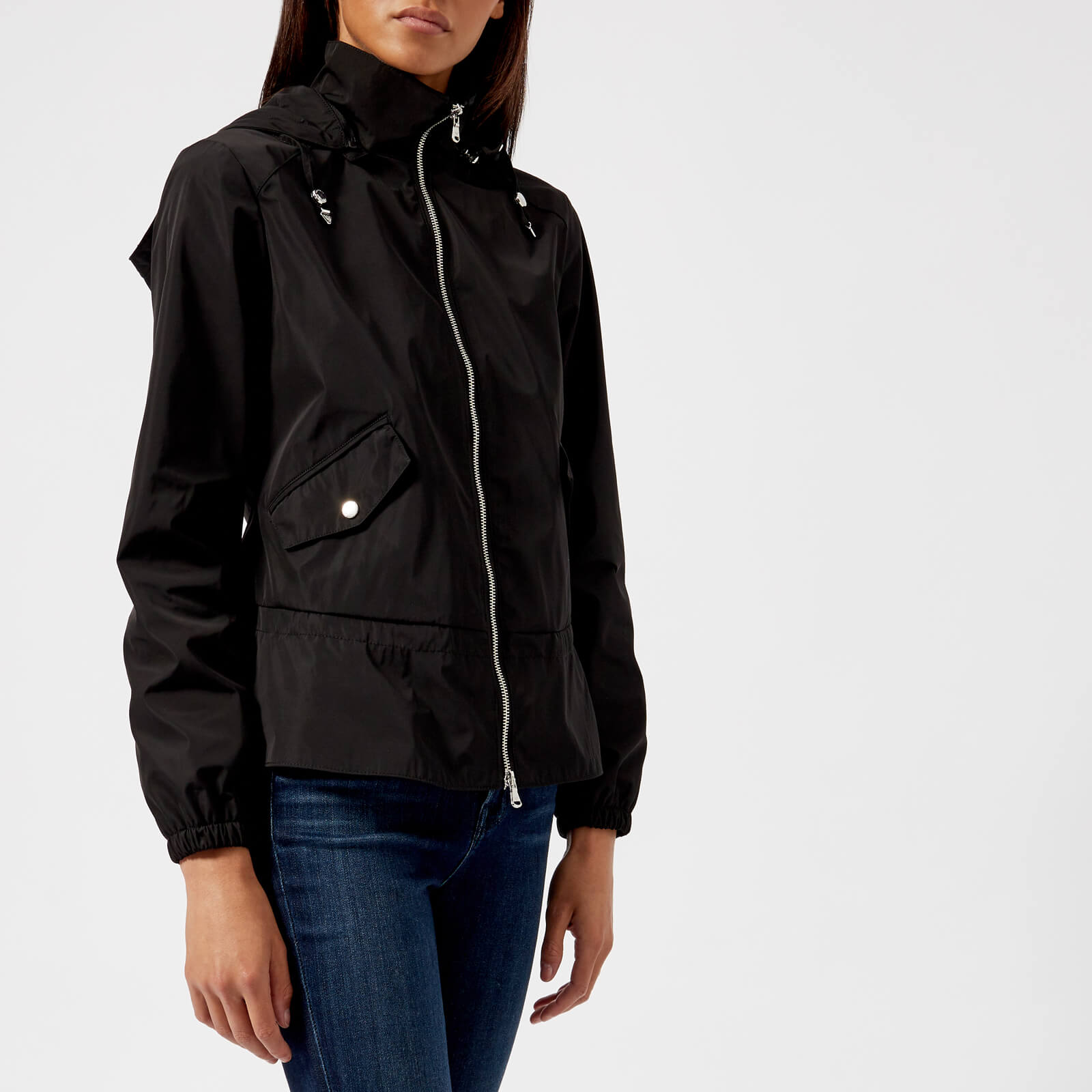 4c763b5b Emporio Armani Women's Blouson Hooded Jacket - Black