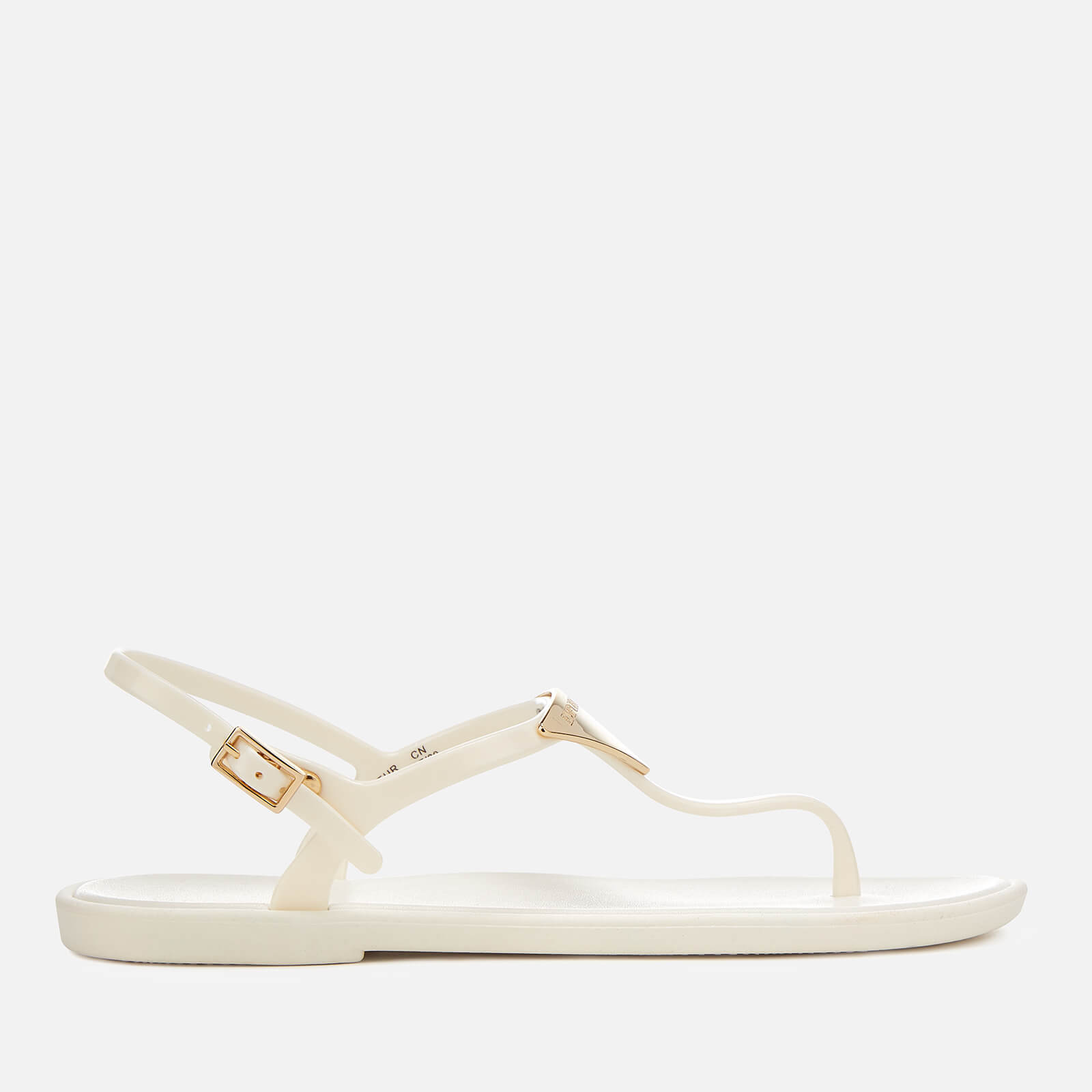 a7bd4b90ef9da1 Emporio Armani Women s Coqui Soft Jelly Sandals - Off White - Free UK  Delivery over £50