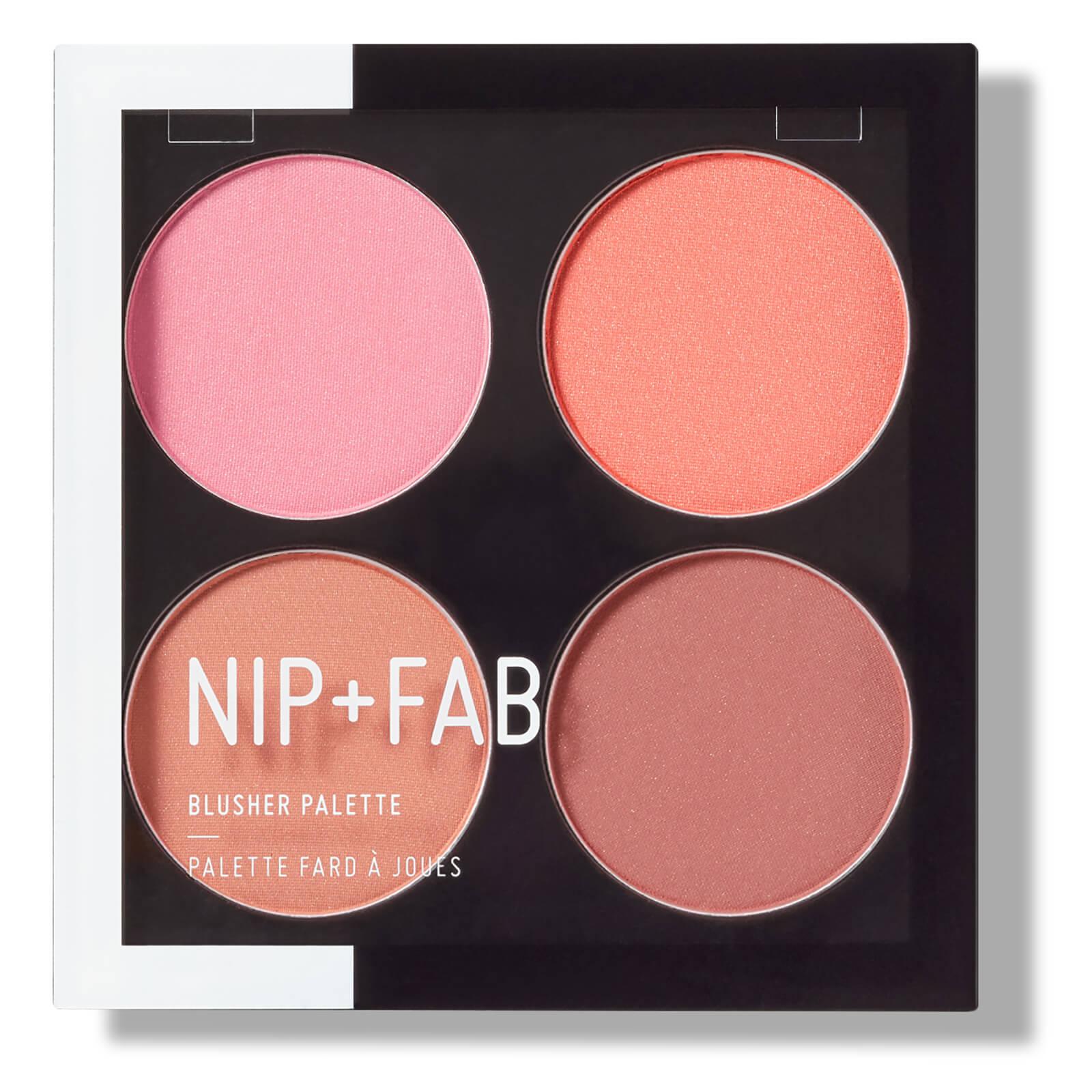 NIP+FAB Make Up Blusher Palette Blushed 15.2g