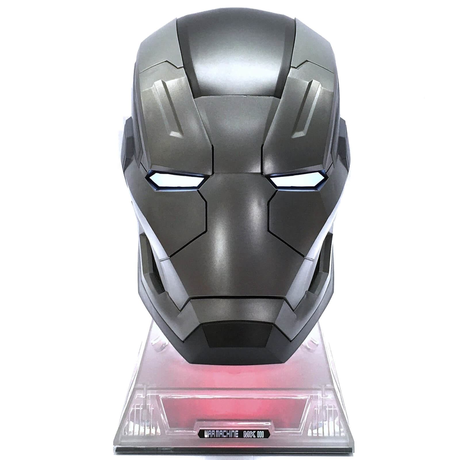 Marvel Iron Man War Machine Mark 3 Helmet Life-Size Bluetooth Speaker  4f44e63bb7c0