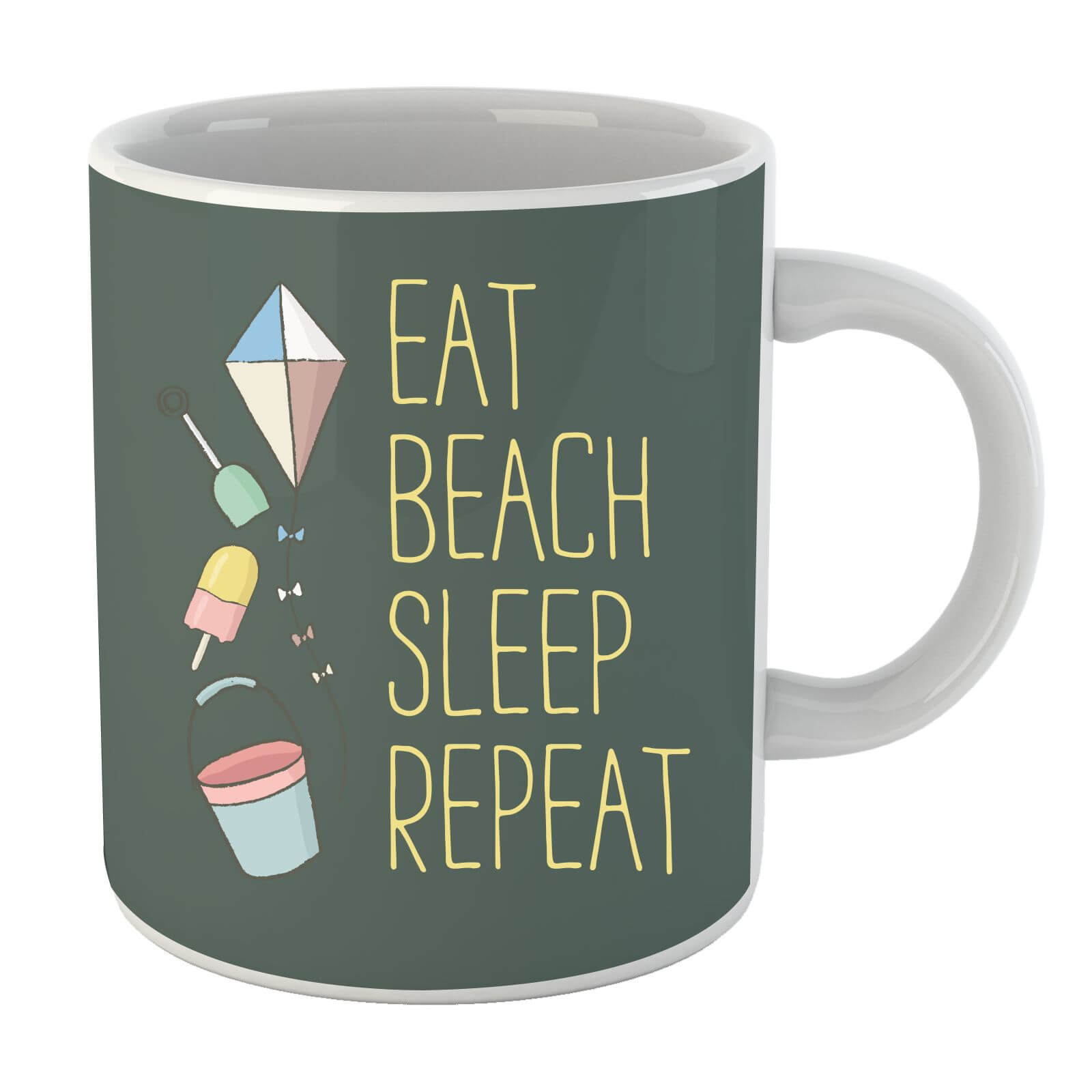 Eat Beach Sleep Repeat Mug