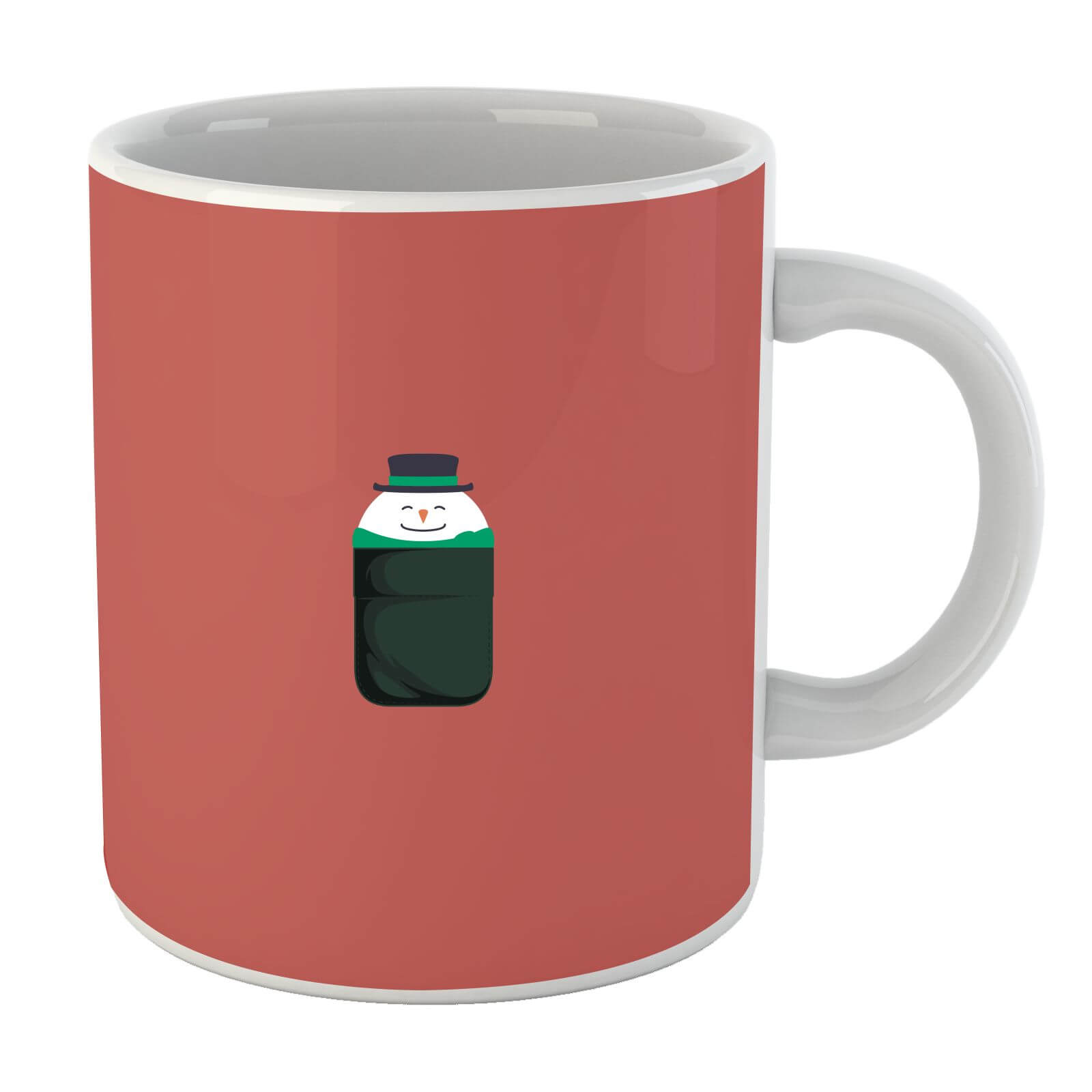 Christmas Snowman Pocket Mug