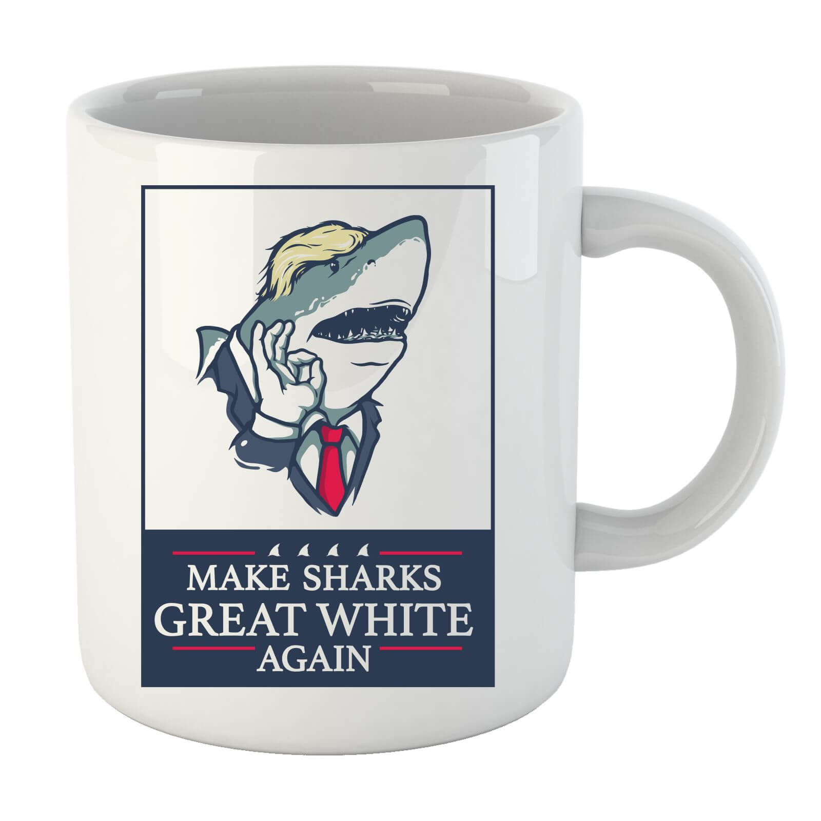 Make Sharks Great White Again Mug