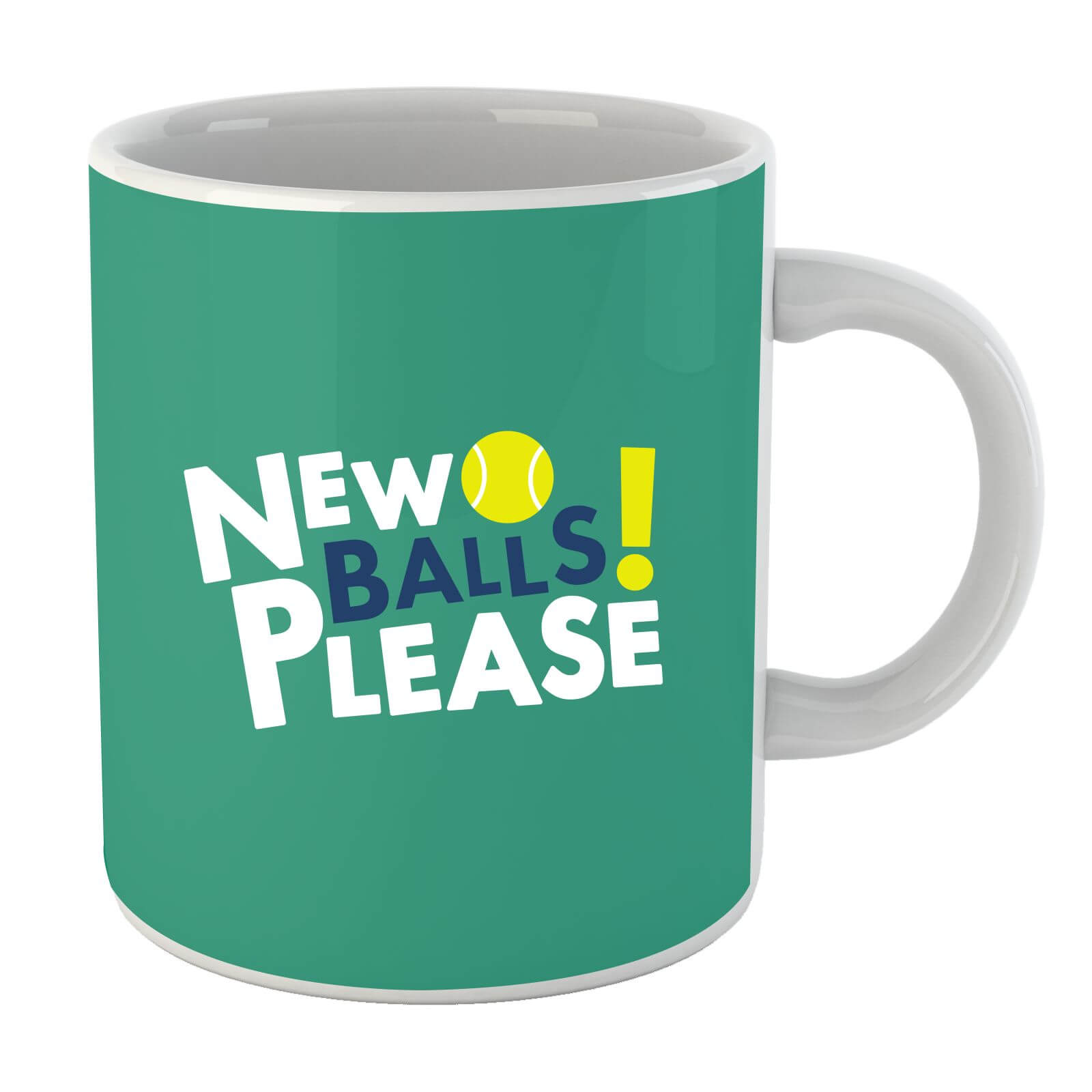 New Balls Please Mug