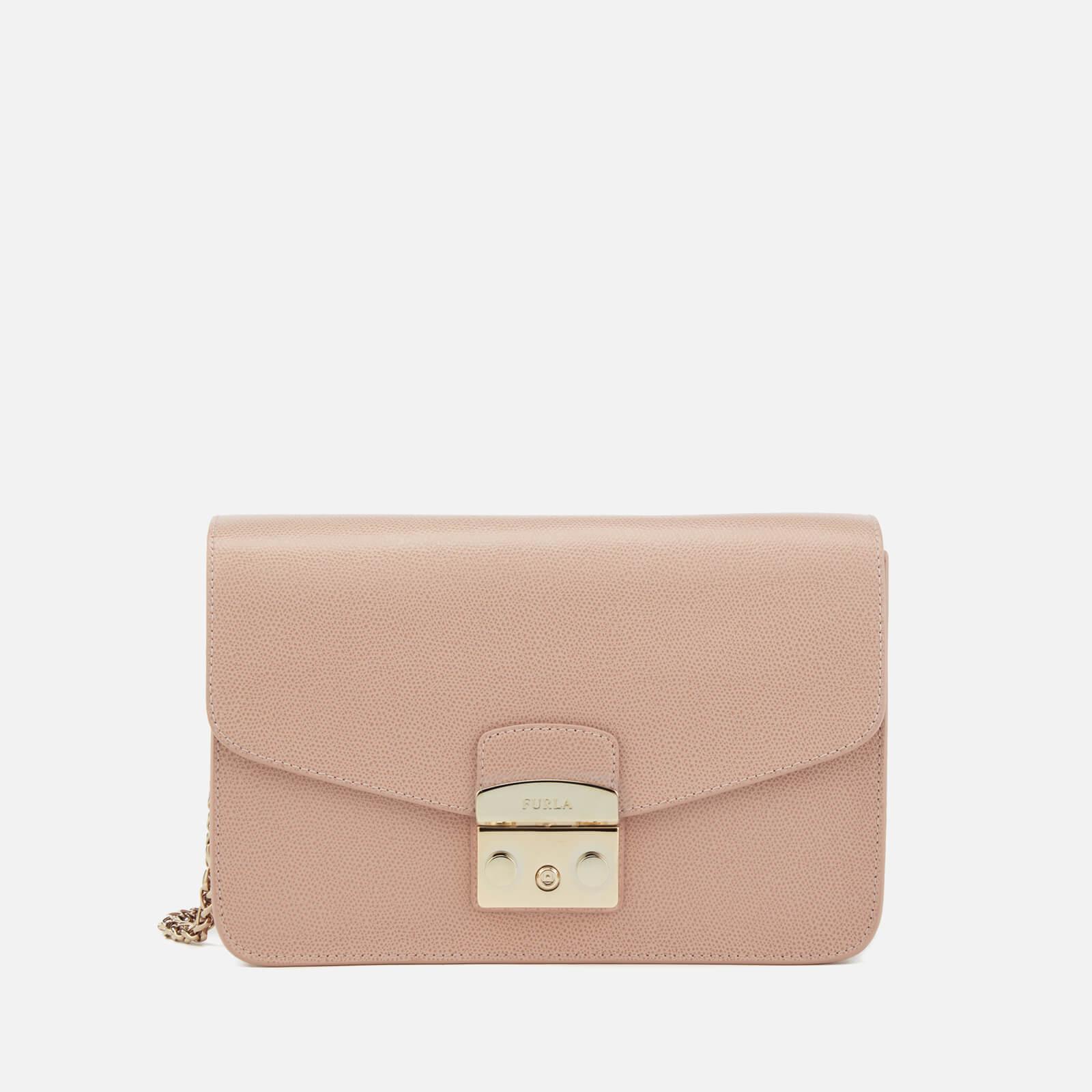 47761ffa2d9ce Furla Women s Metropolis Shoulder Bag - Moonstone - Free UK Delivery over  £50