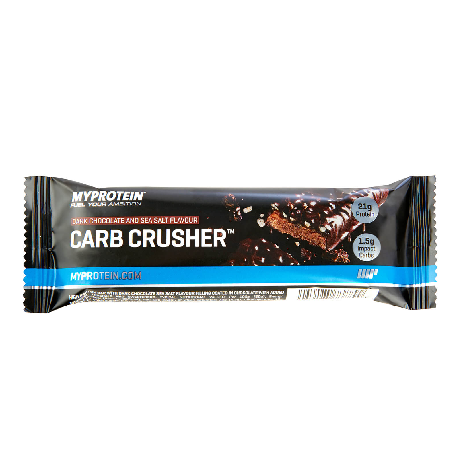 Carb Crusher, Dark Chocolate and Sea Salt, 60g (Sample)
