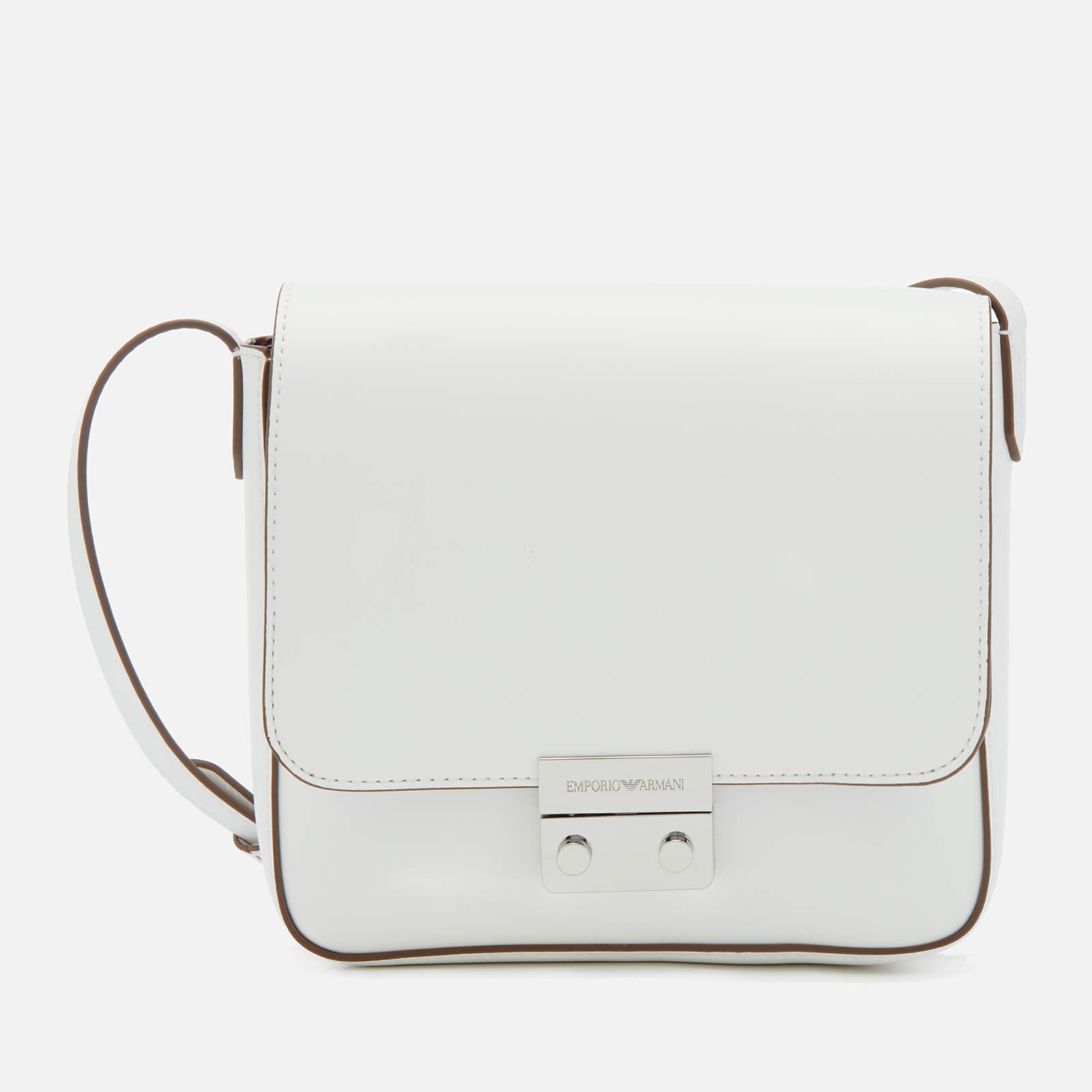 d68ac06ebba4 Emporio Armani Women s Sling Bag - White - Free UK Delivery over £50