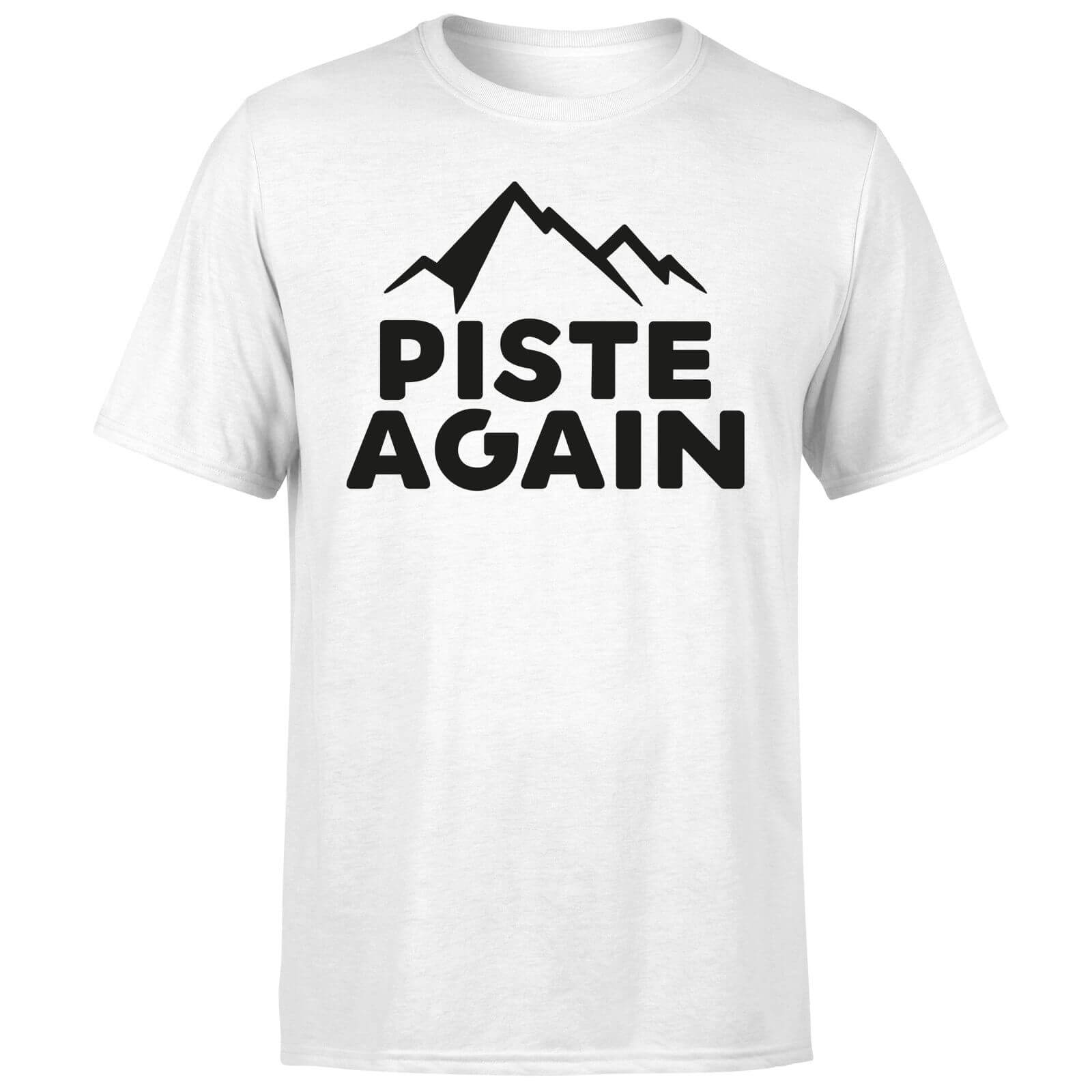 Piste Again T-Shirt - White
