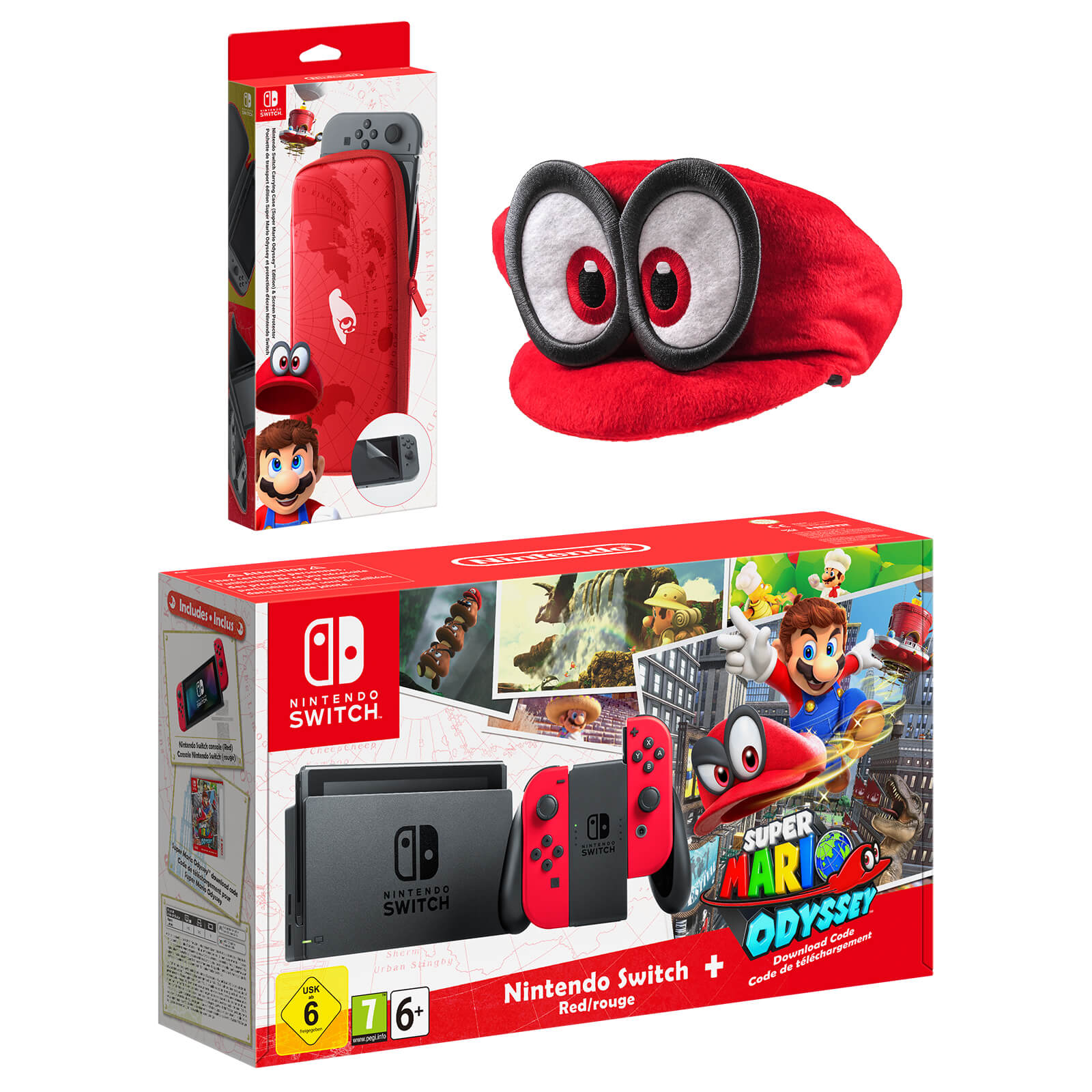 Nintendo Switch Cappy Pack
