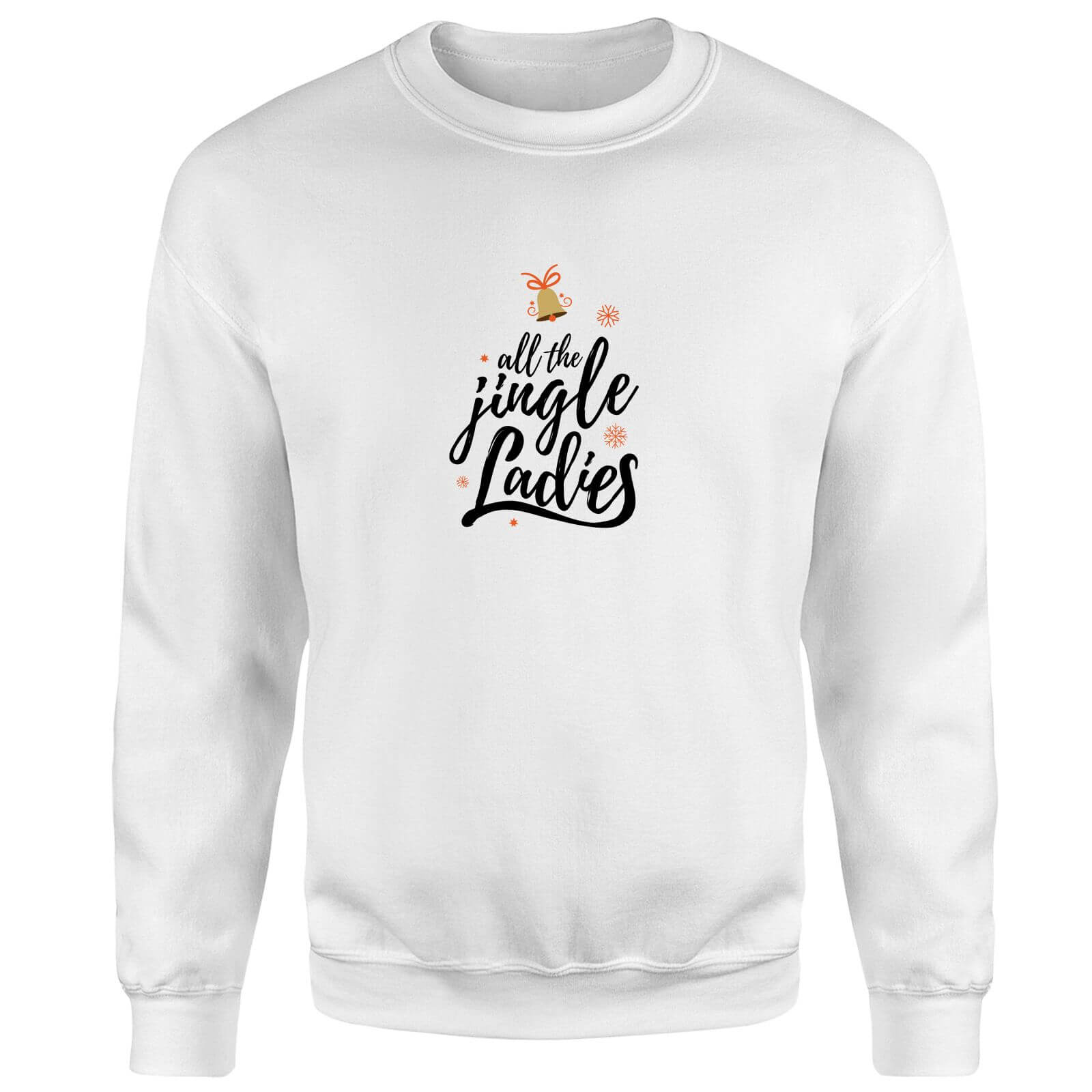All The Jingle Ladies Sweatshirt - White