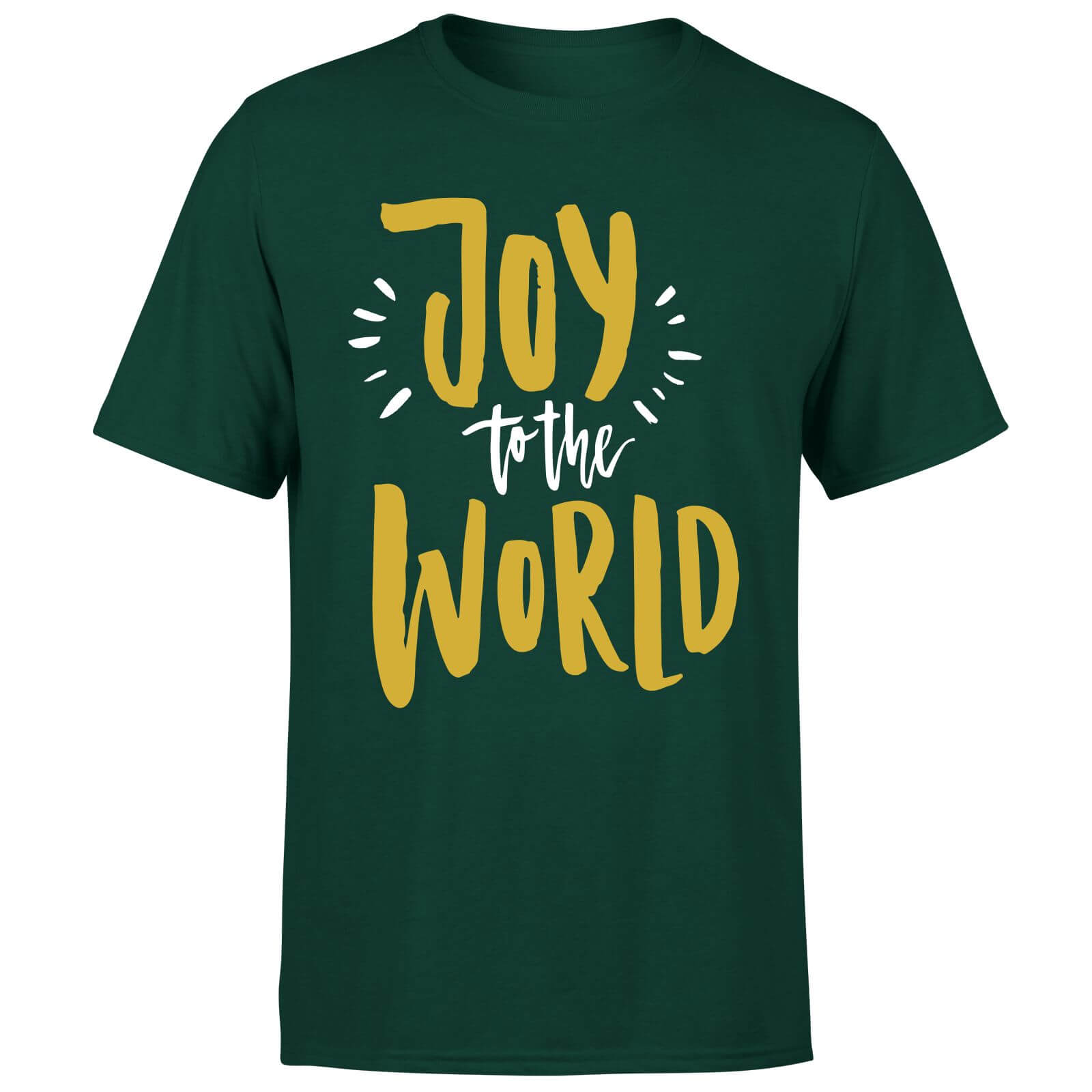 Joy to the World T-Shirt - Forest Green