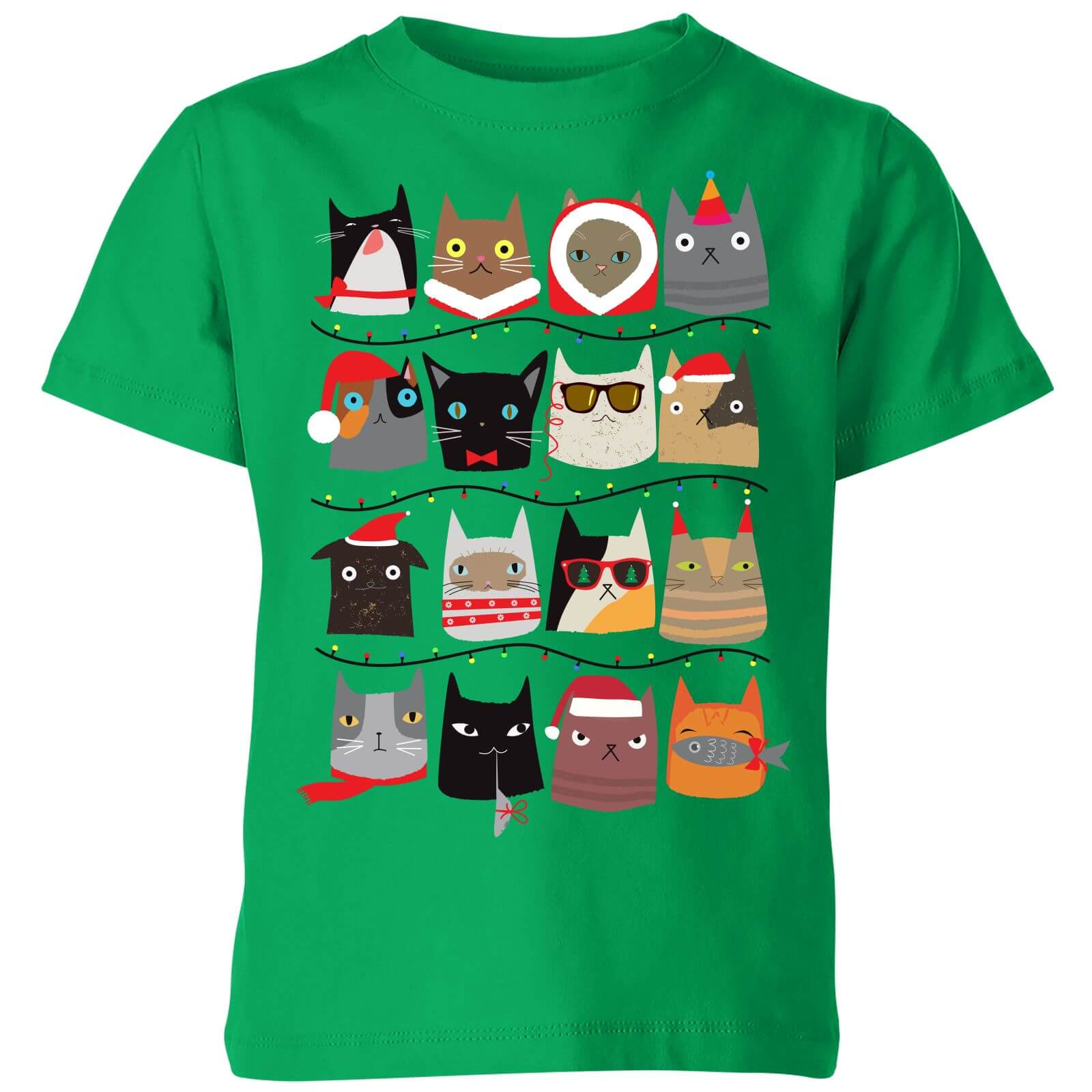 Christmas Cats Kids