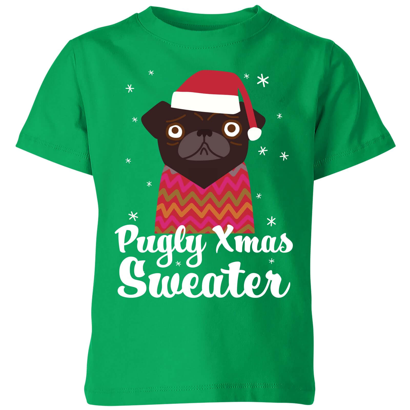 Pugly xmas Sweater Kids