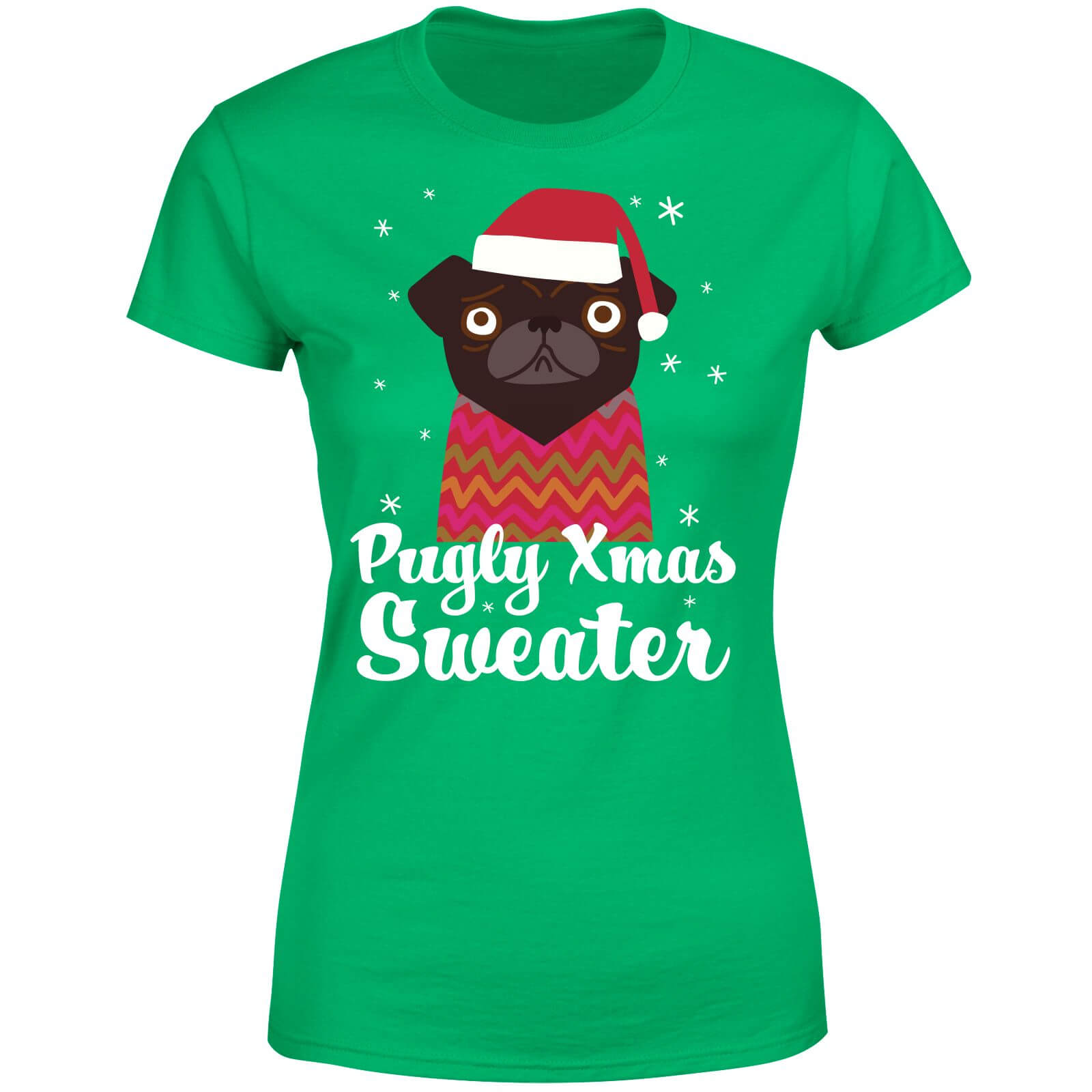 Pugly xmas Sweater Women