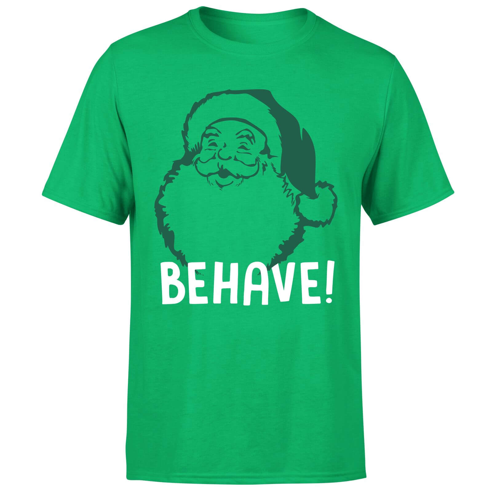 Behave! T-Shirt - Kelly Green