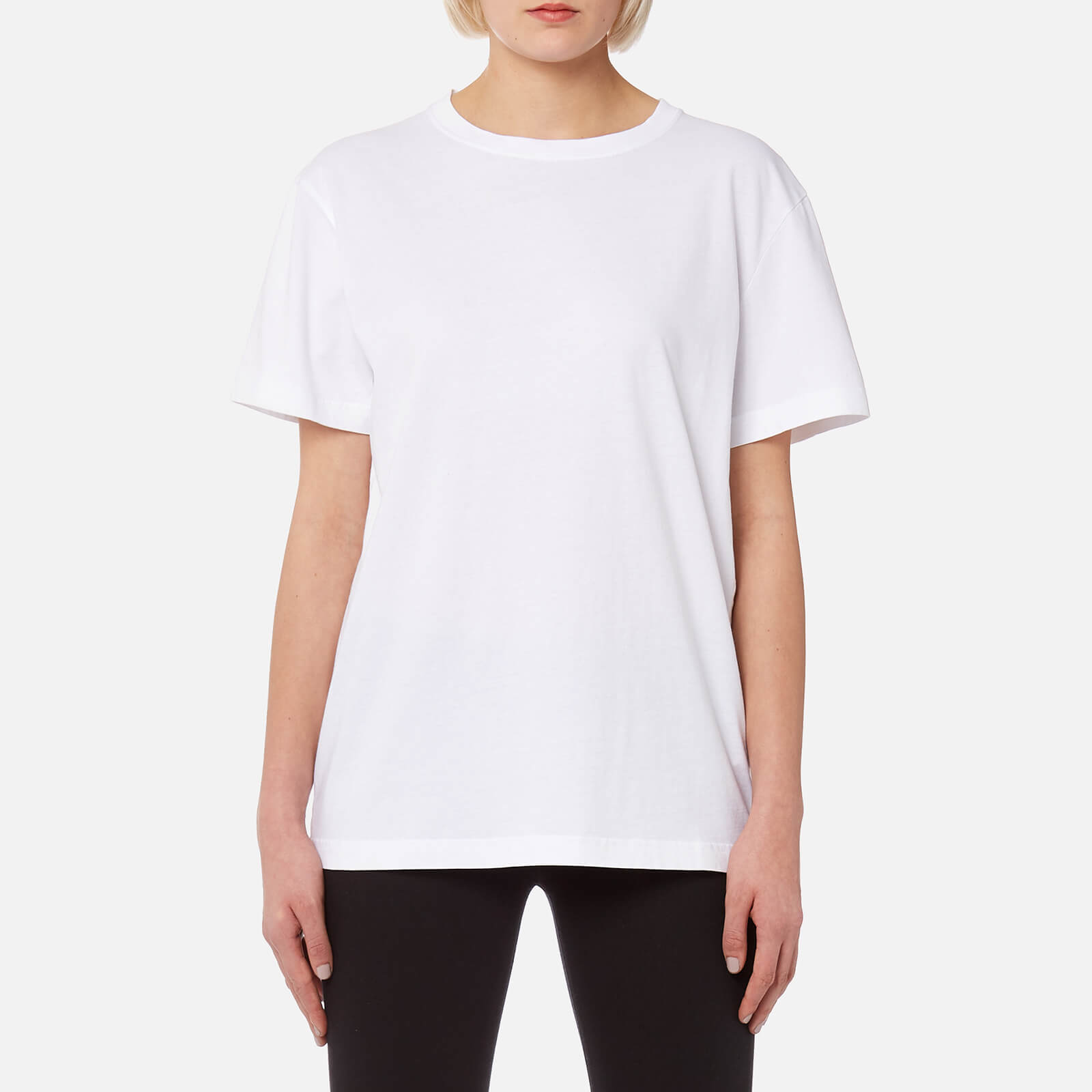 bfc8a7f47 Helmut Lang Women's Ring Detail T-Shirt - White - Free UK Delivery over £50