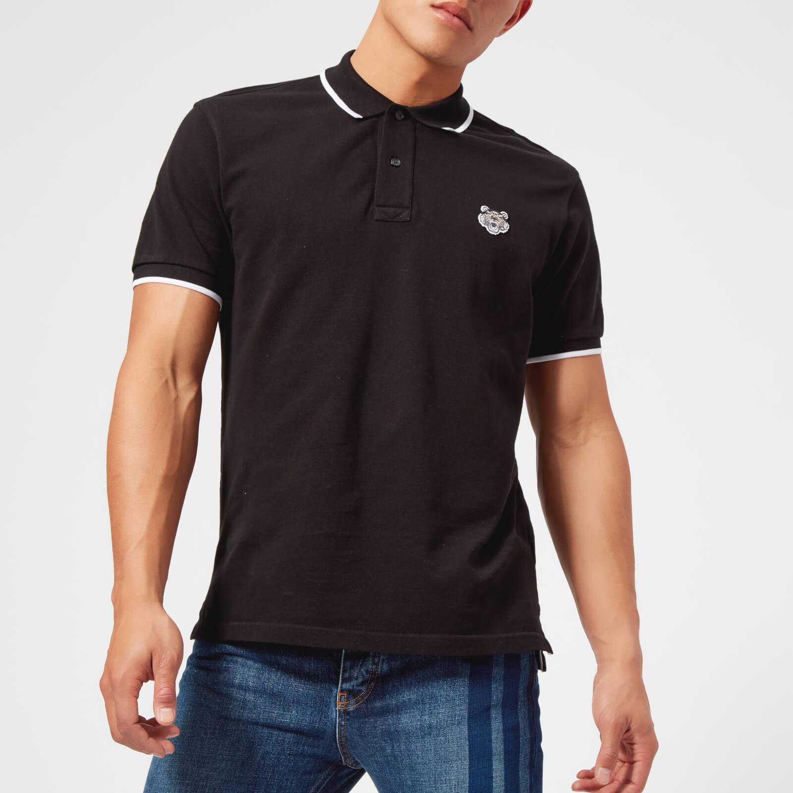 29eb272e KENZO Men's Icon Slim Polo Shirt - Black - Free UK Delivery over £50