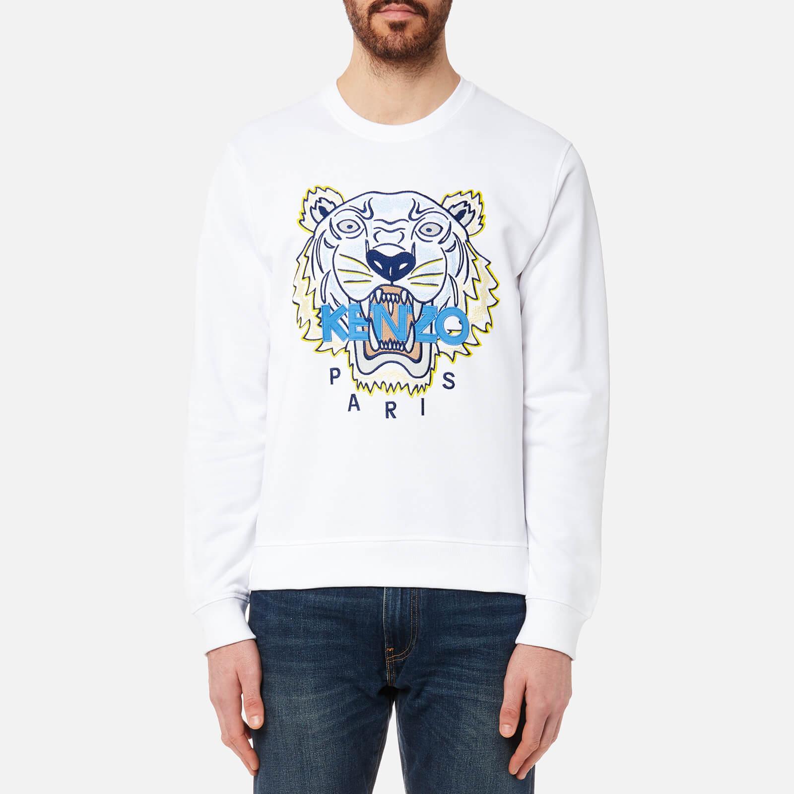190b01c7b0 KENZO Men's Classic Icon Sweatshirt - White