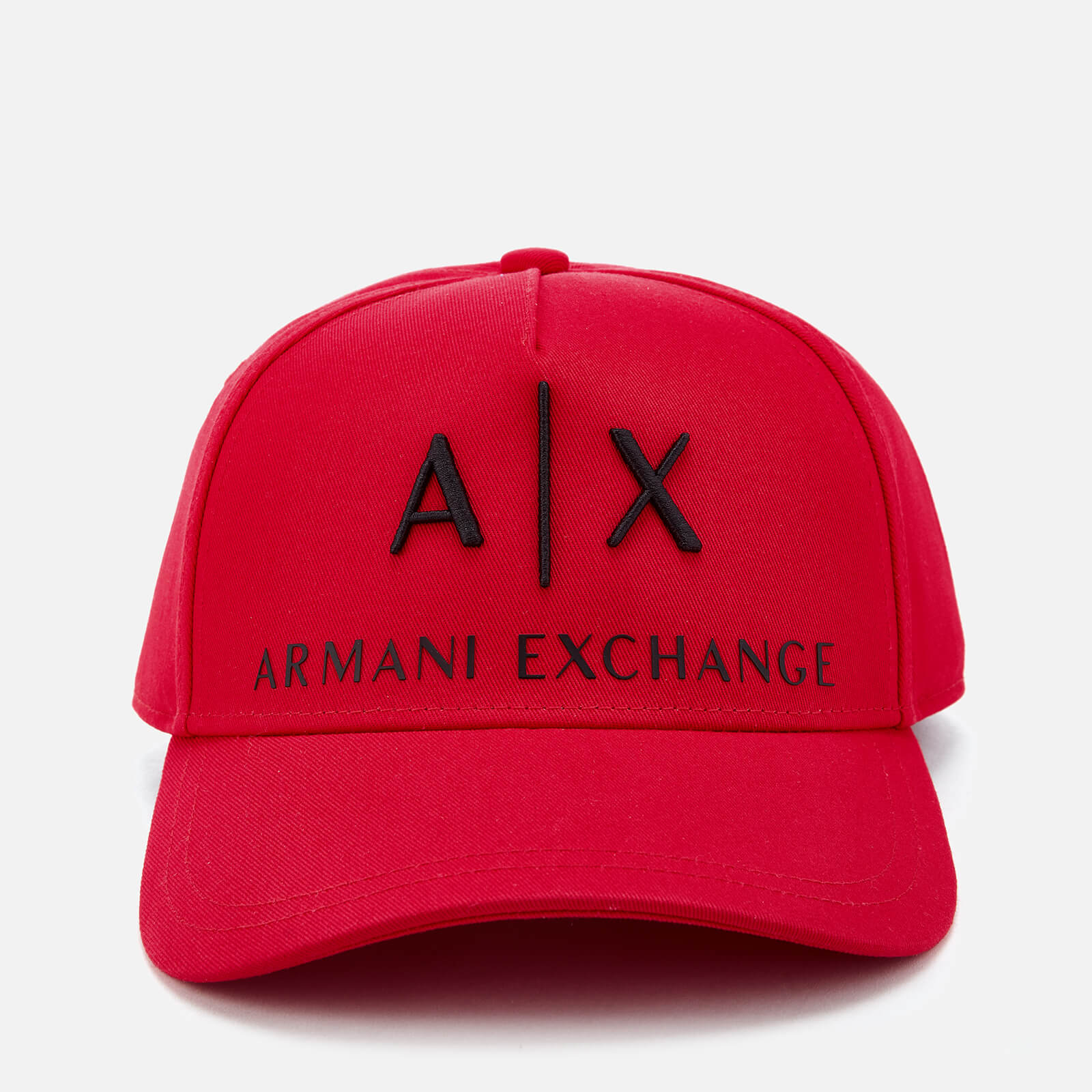 9a10d5d149bc Armani Exchange Men's Logo Cap - Absolute Red
