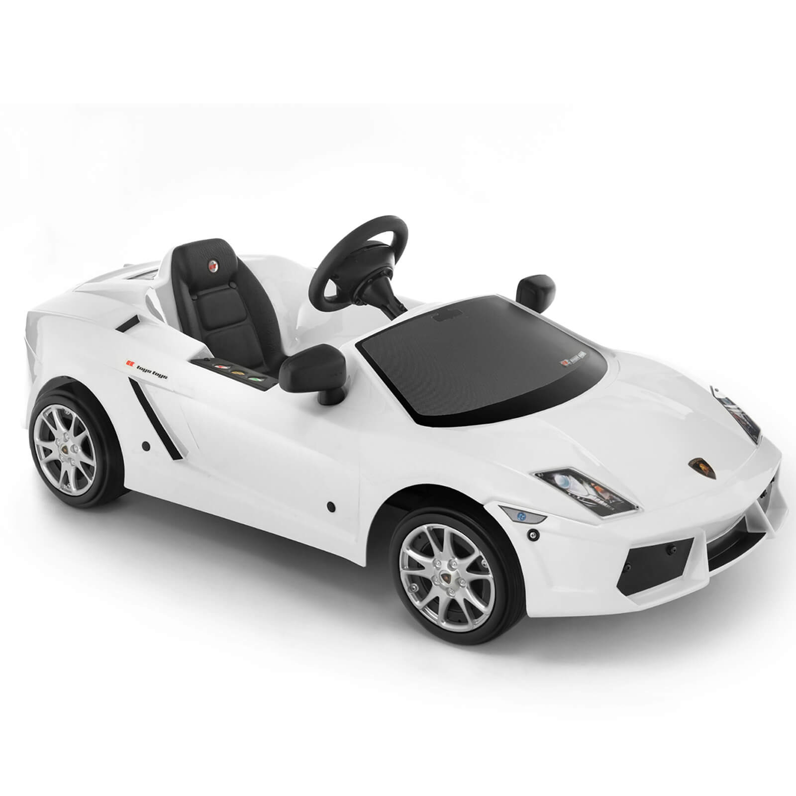 Lamborghini Gallardo Pedal Power Car - White