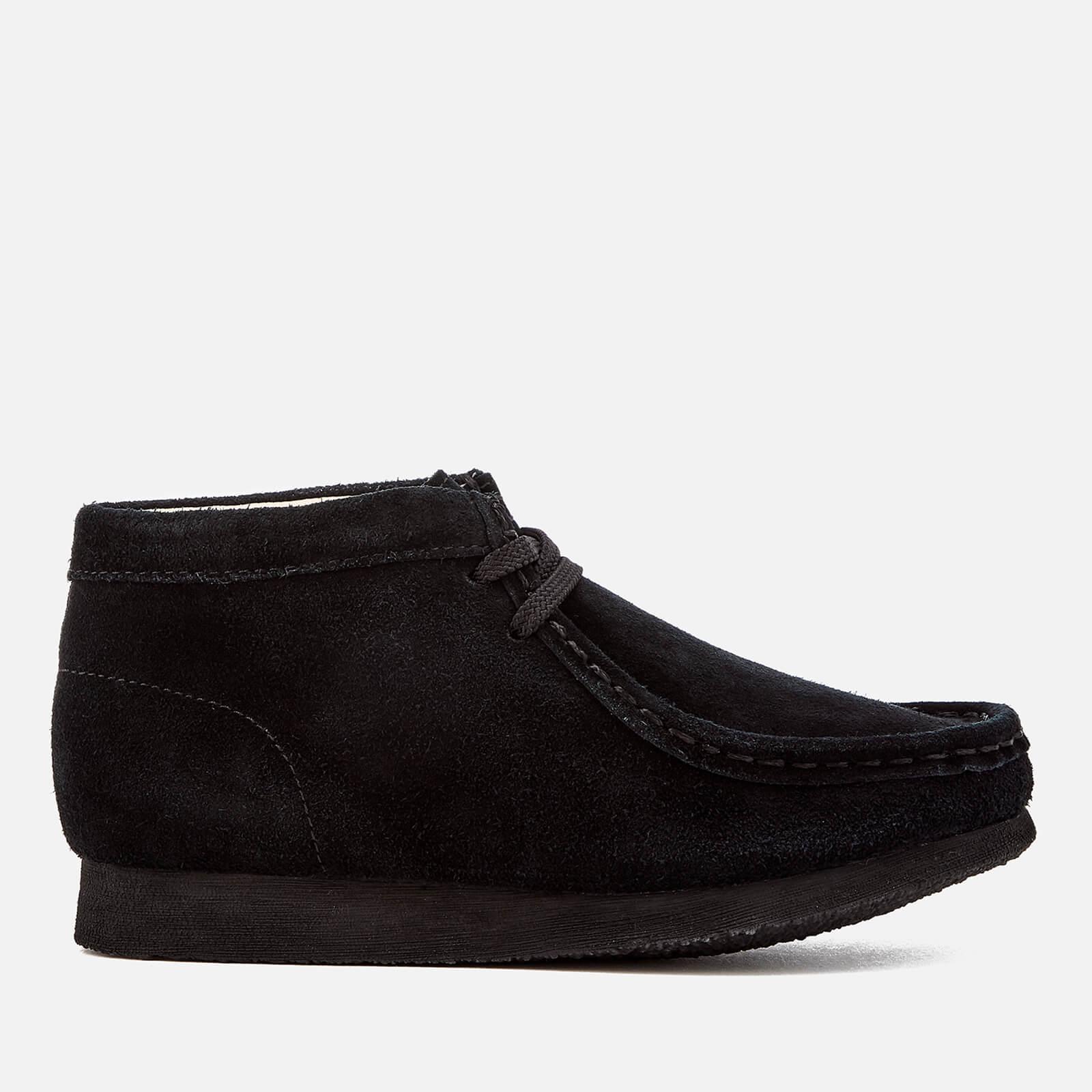 buy online b5293 16075 Clarks Originals Kids' Wallabee Boots - Black Suede