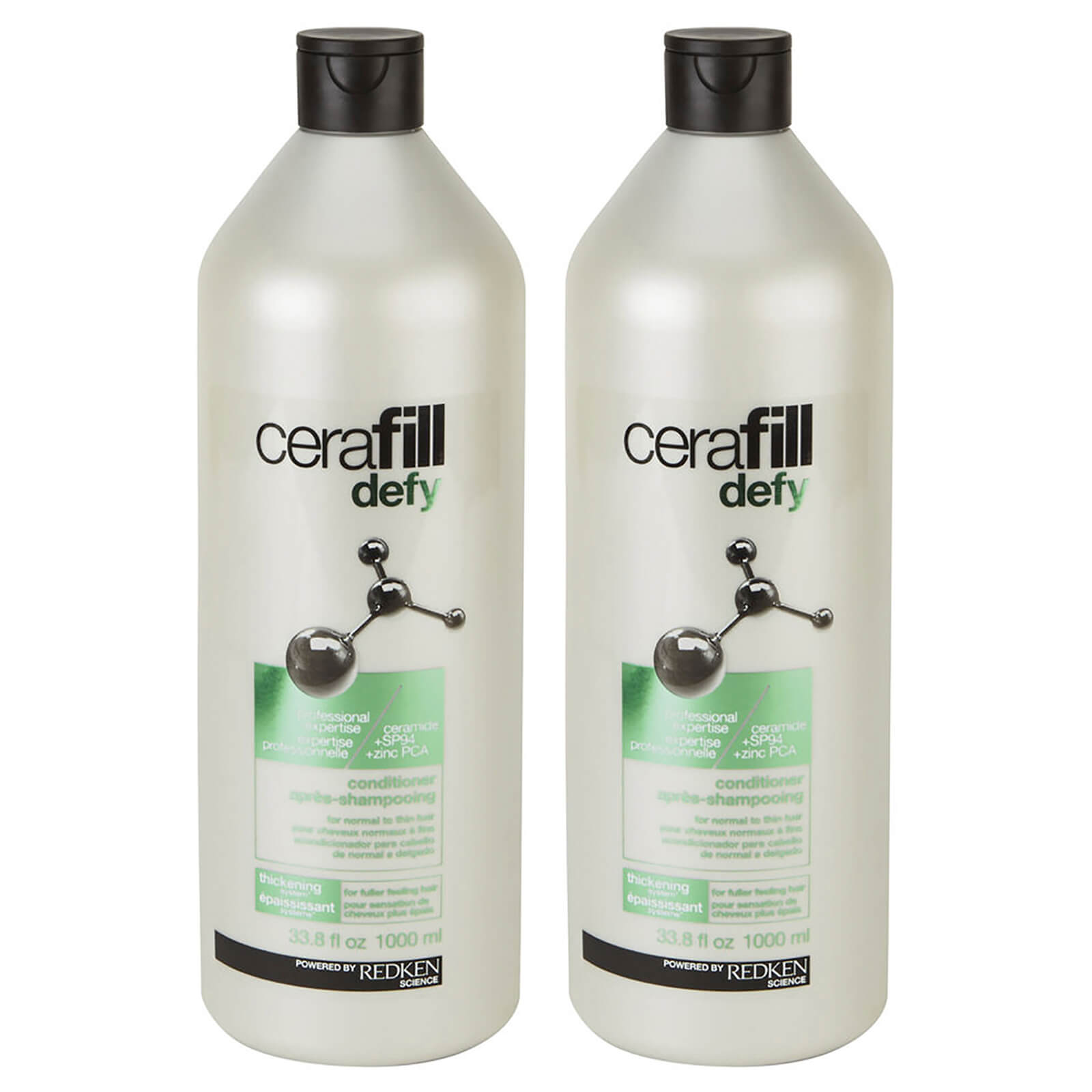 Redken Cerafill Defy Conditioner Duo (2 x 1000ml)