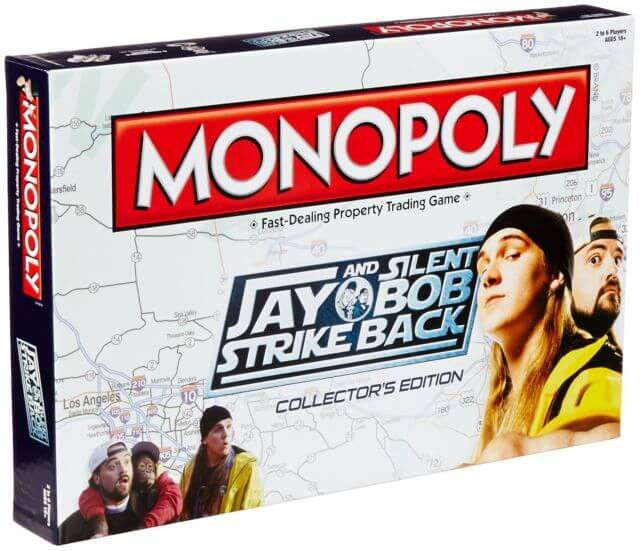 Jay and Silent Bob Strike Back Monopoly