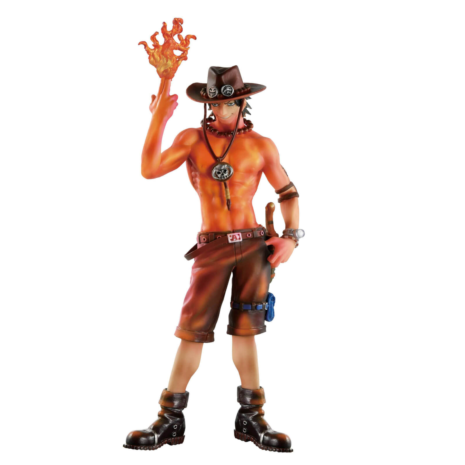 Banpresto One Piece SCultures Portgas D. Ace Burning Color Version Figure
