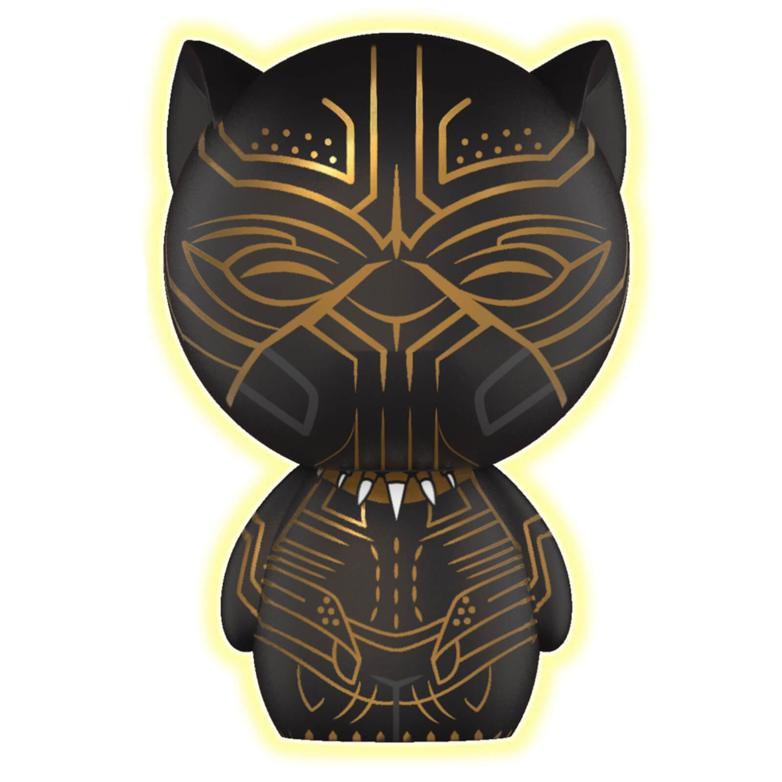 Black Panther Erik Killmonger Glow in the dark Dorbz Vinyl Figure