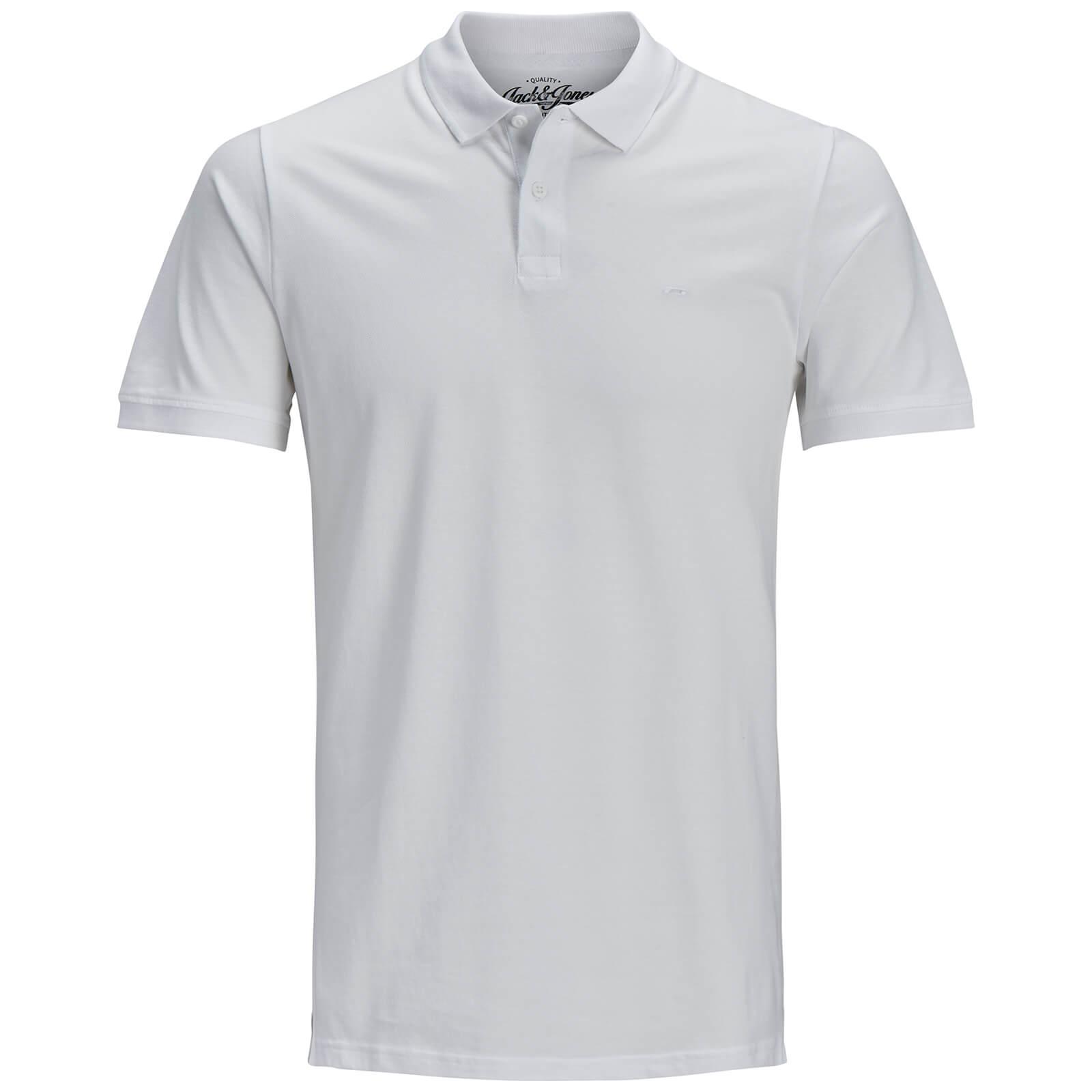 zavvi Originals Basic Homme ClothingFr Polo Jackamp; Blanc Jones SzMpUV