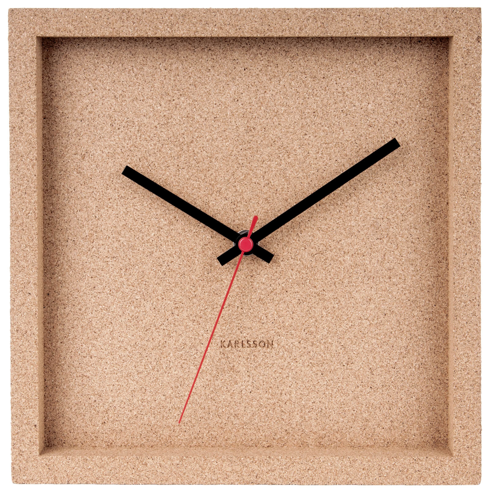 Karlsson Franky Wall Clock - Cork