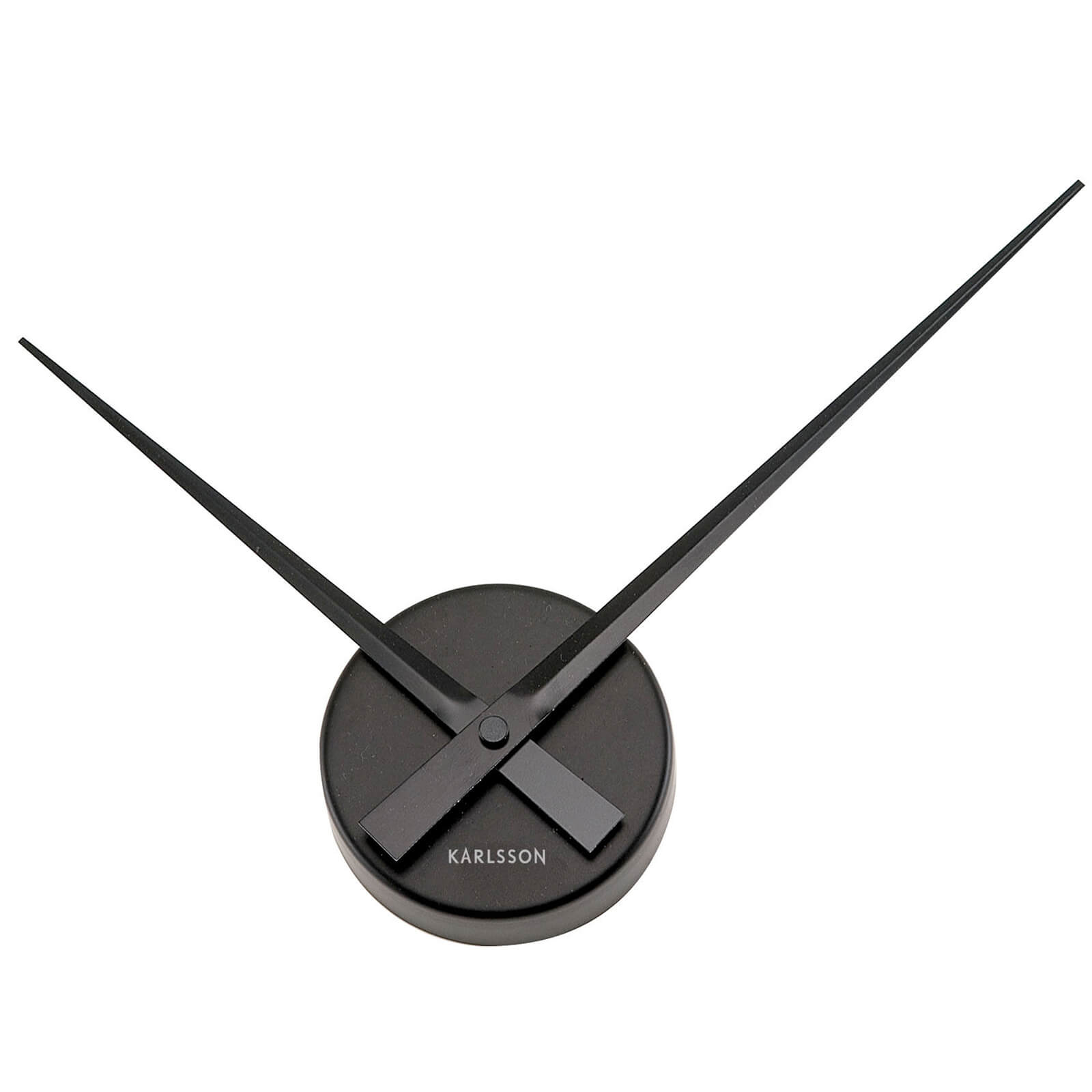 Karlsson Little Big Time Mini Wall Clock - Black
