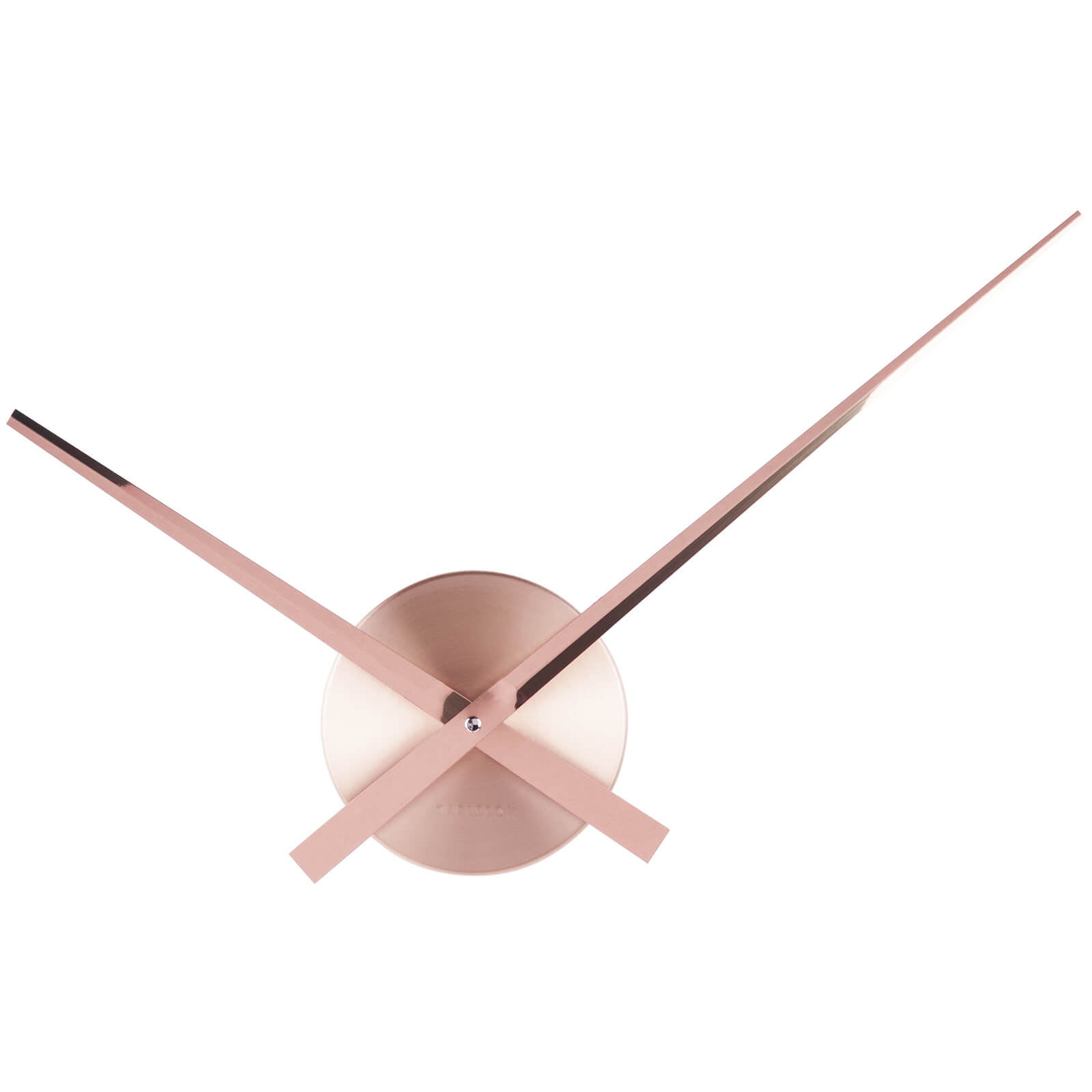 Karlsson Little Big Time Mini Wall Clock - Copper
