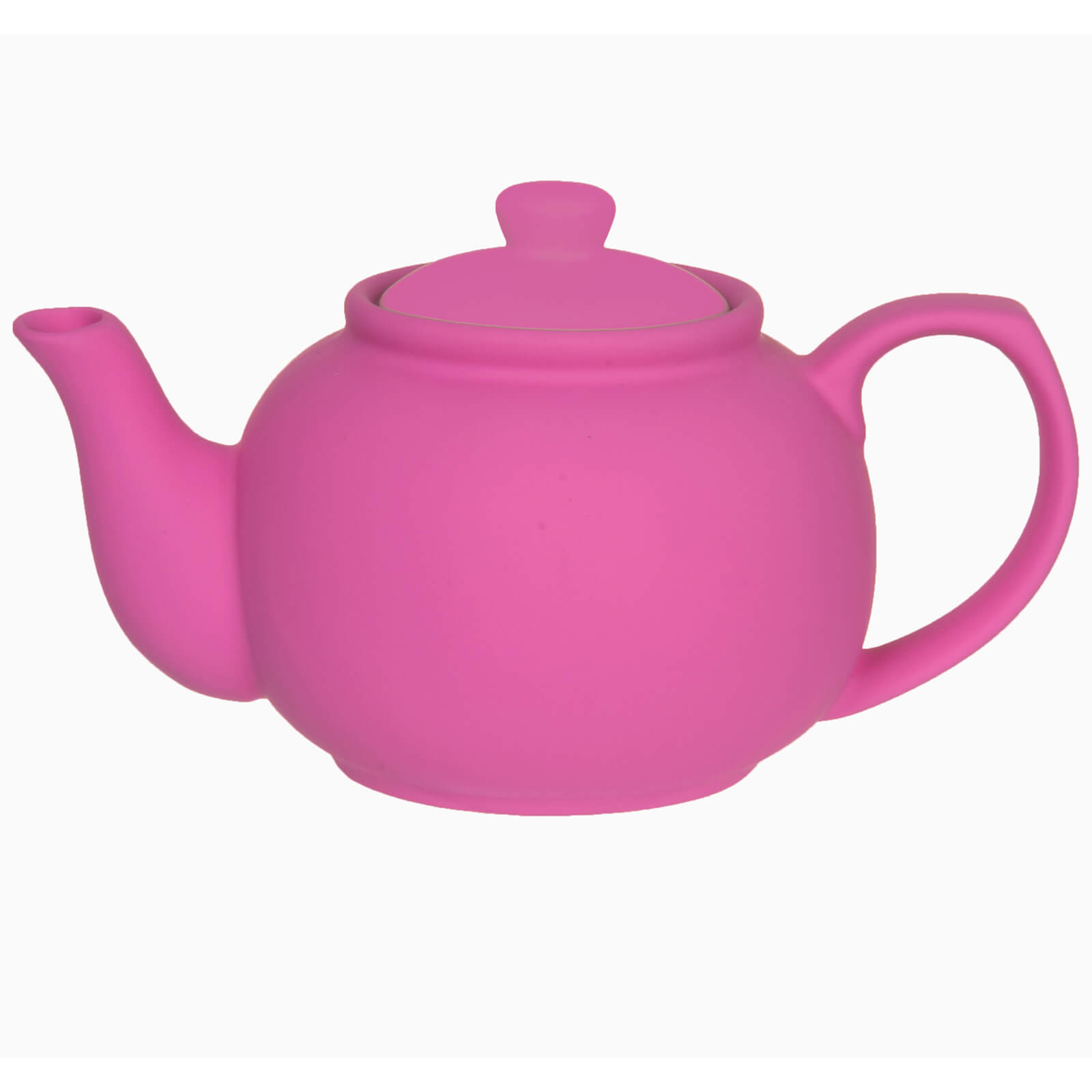 Silk Tea Pot - Neon Pink