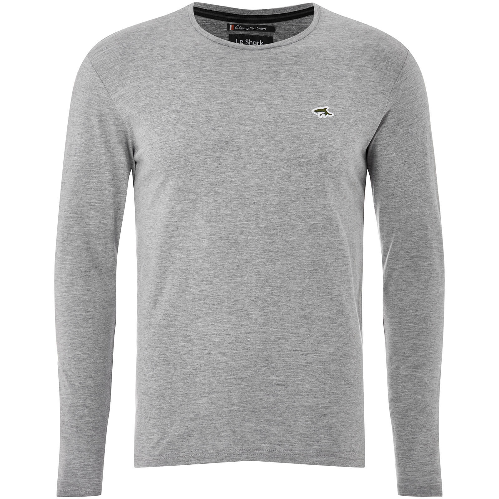 38d39820dce2 Le Shark Men's Lambeth Long Sleeve T-Shirt - Light Grey Marl Clothing    Zavvi