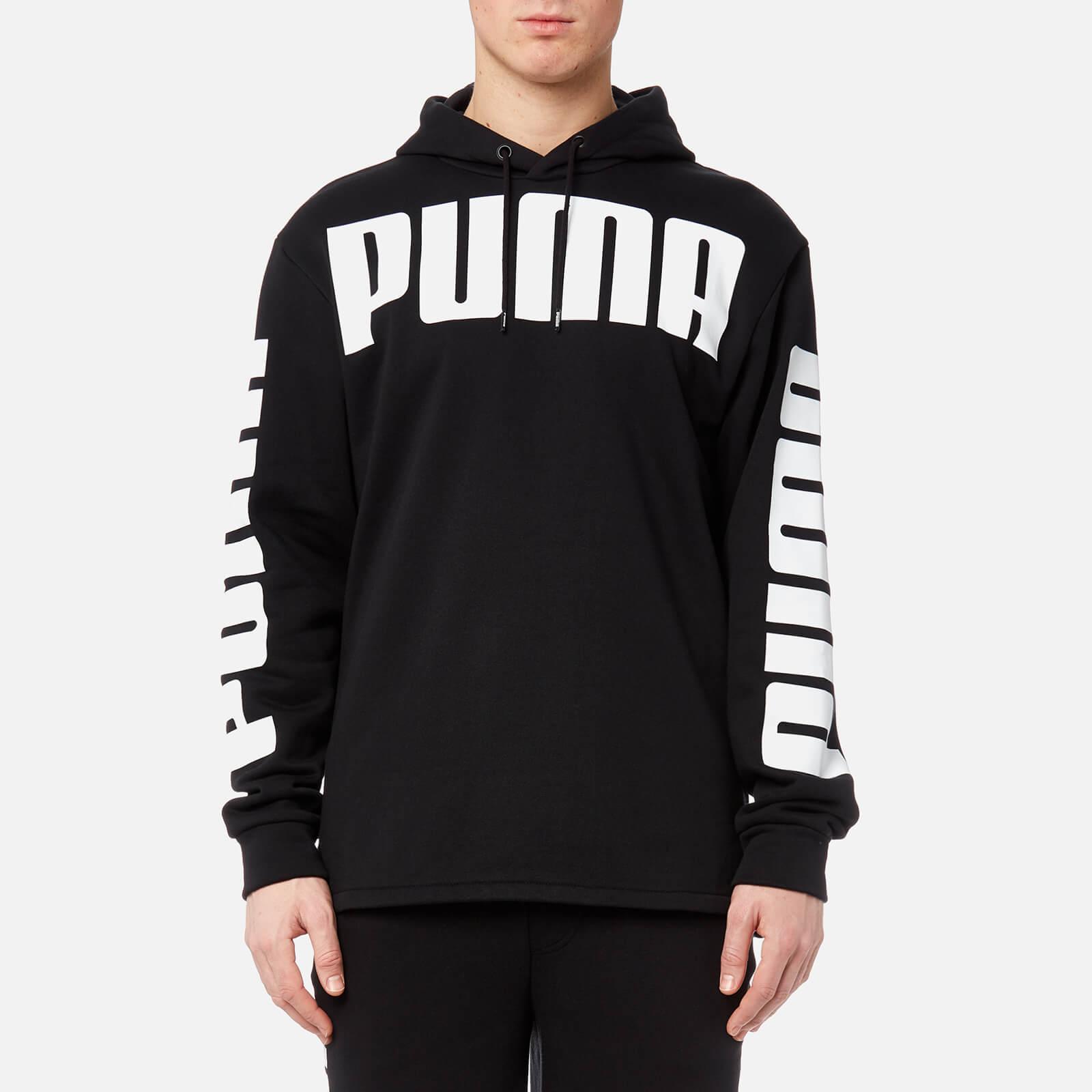 28444bf8fc837 Puma Men's Rebel Full Zip Hoody - Cotton Black