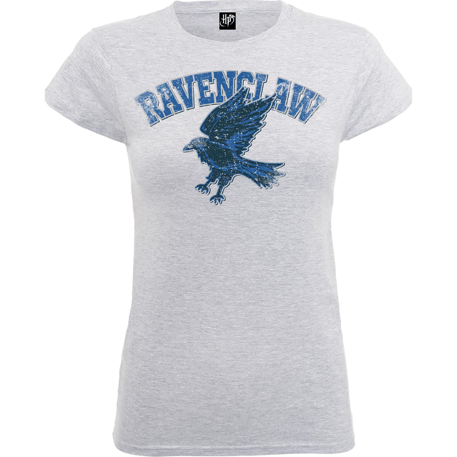 fffff48d1a9d Harry Potter Ravenclaw Women's Grey T-Shirt | IWOOT