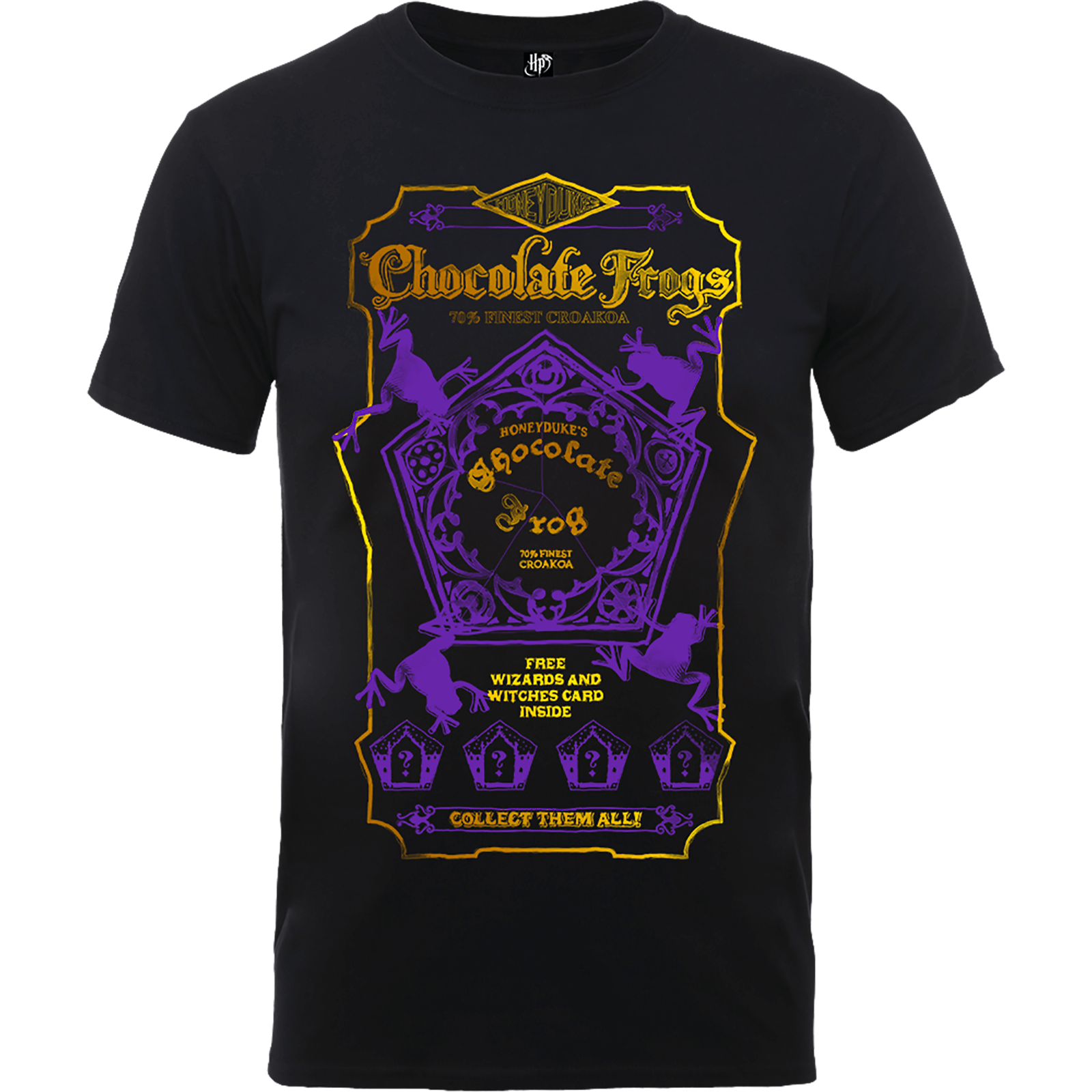 Harry Potter Honeydukes Purple Chocolate Frogs Men