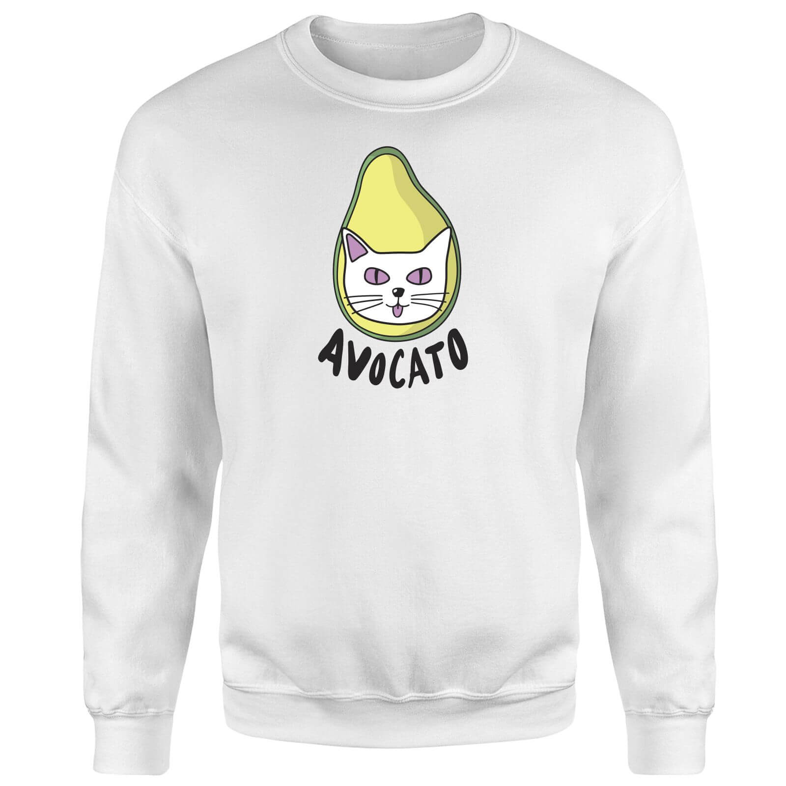 Avocato Sweatshirt - White