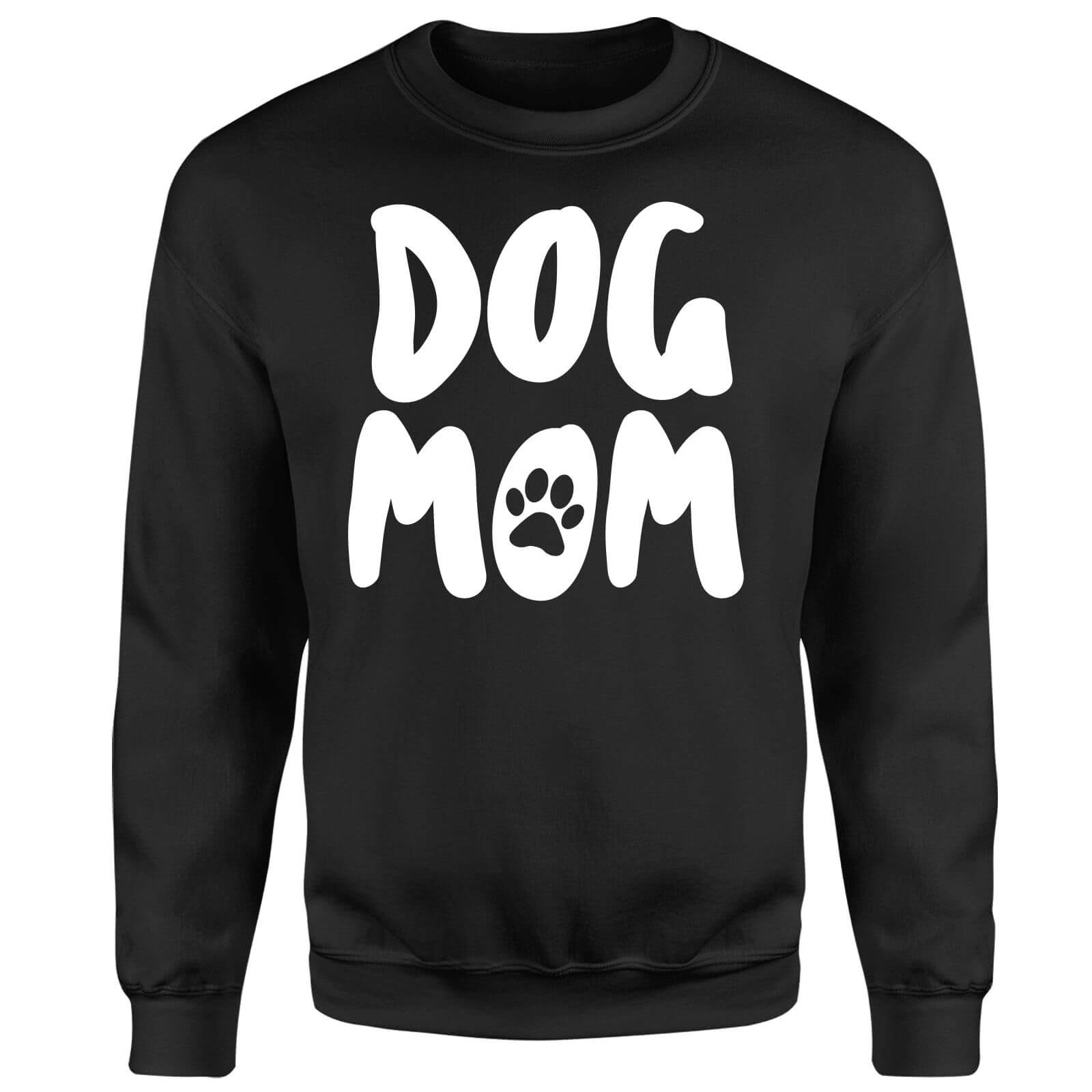 Dog Mom Sweatshirt - Black