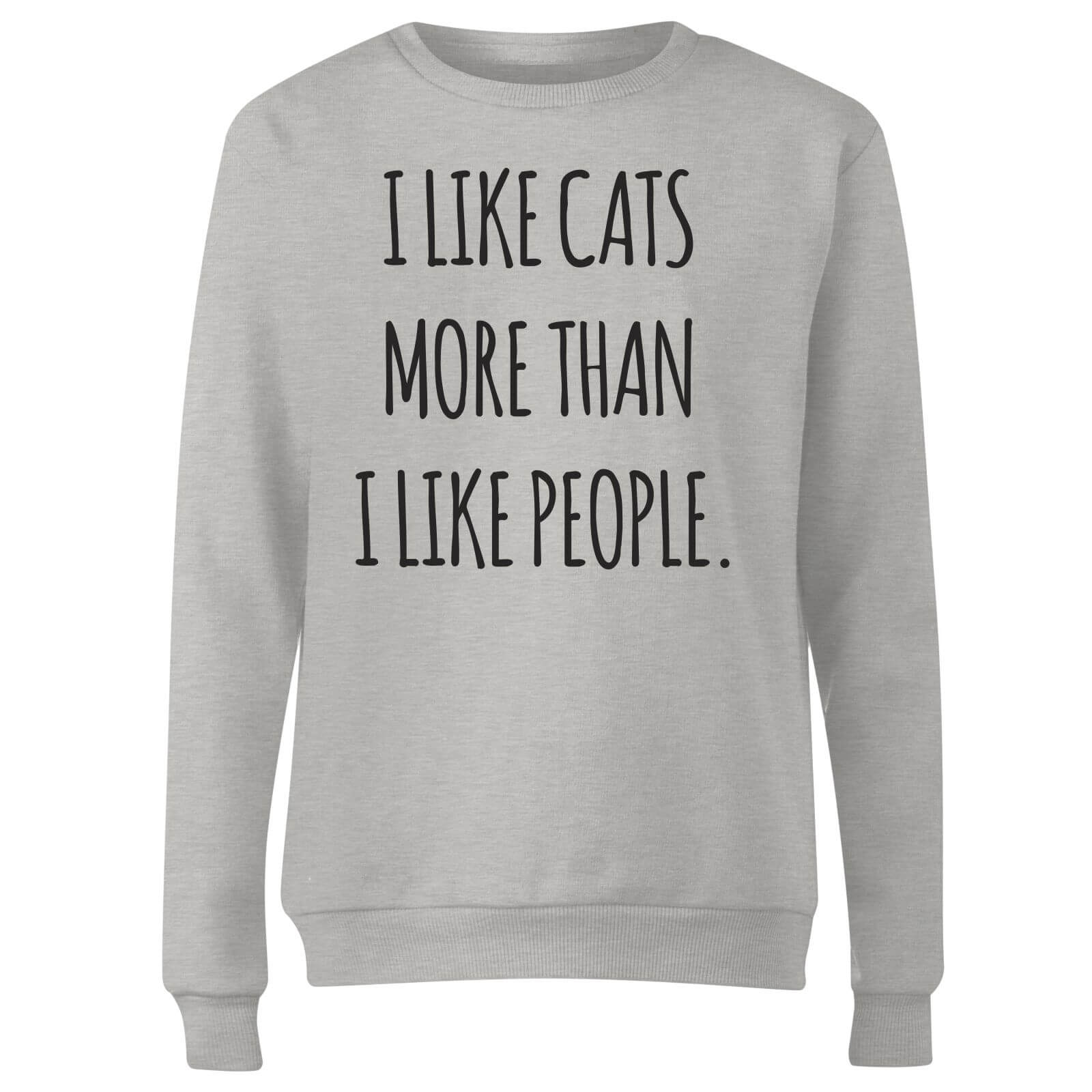 I Like Cats More Than People Women